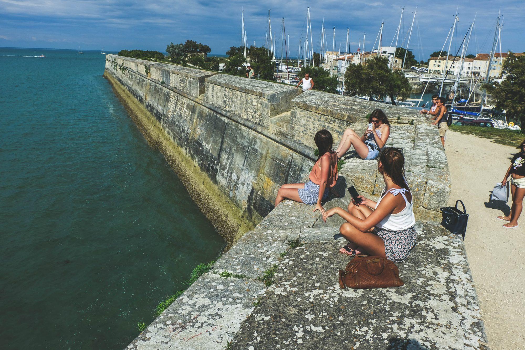 Les stars des remparts - Saint Martin en Ré, Ile de Ré