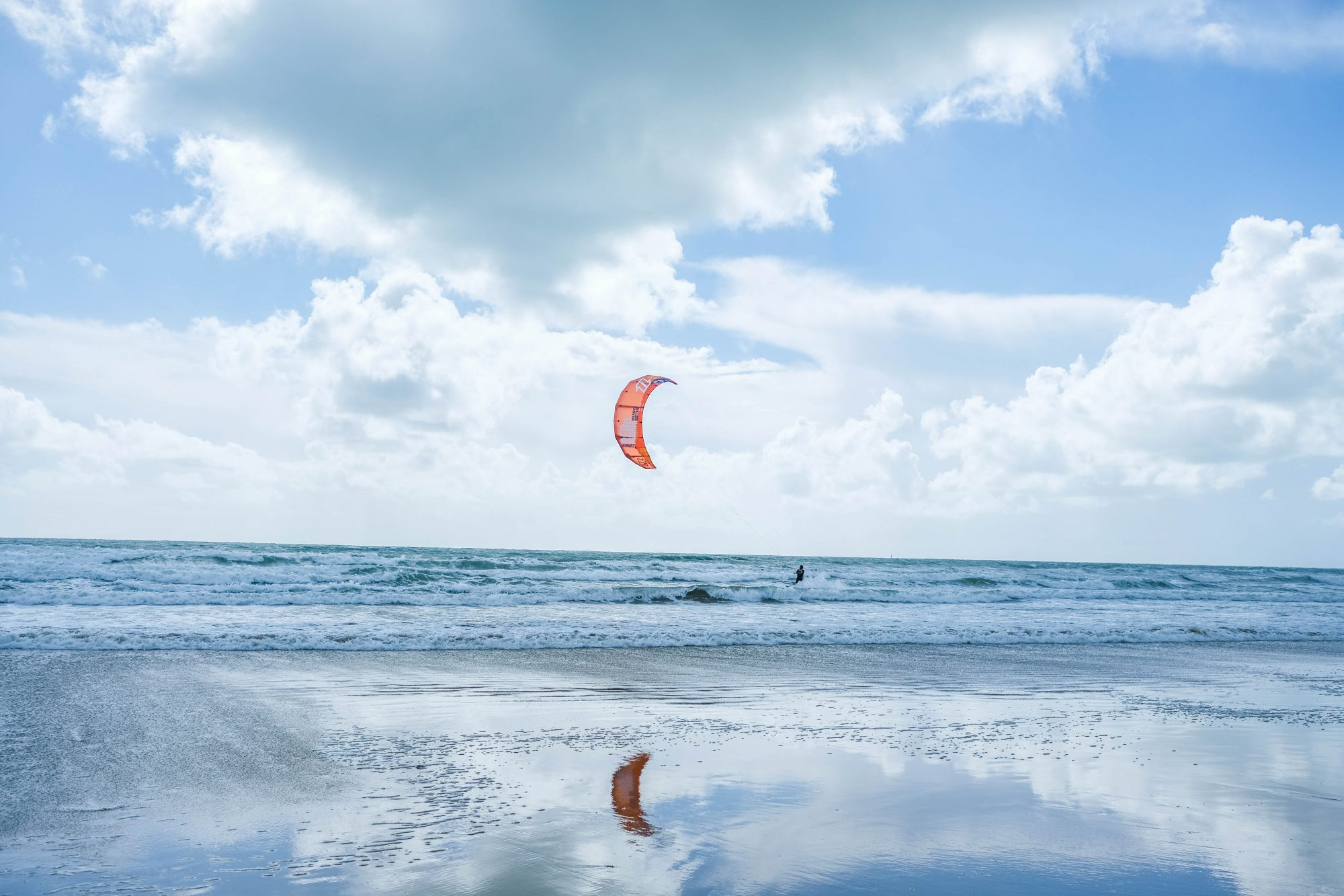 Kitesurf à l'Île de Ré