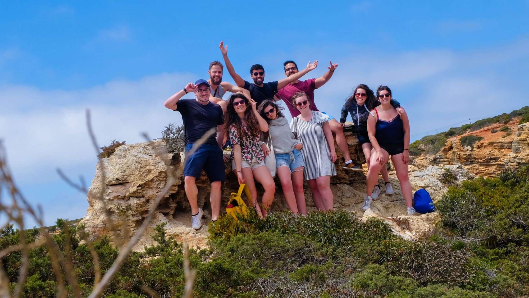 Les amis - Sagres, Portugal