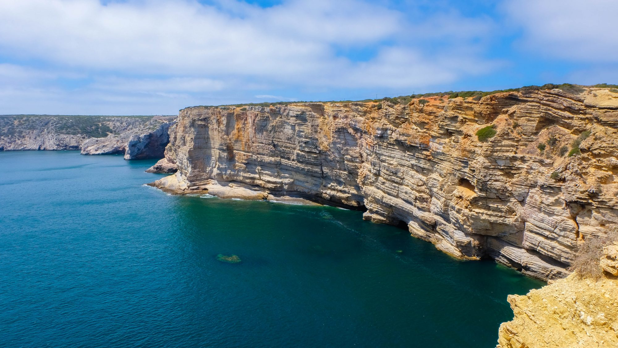 Les falaises - Sagres, Portugal