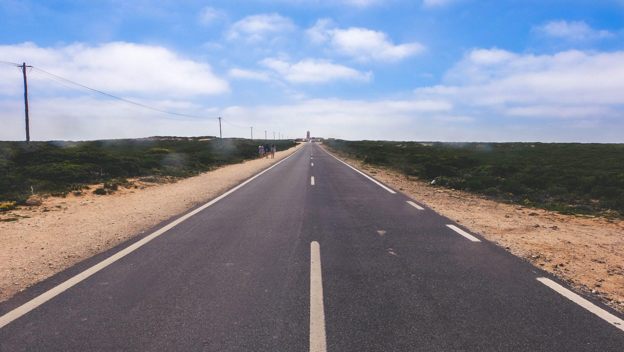 Route du phare - Sagres, Portugal