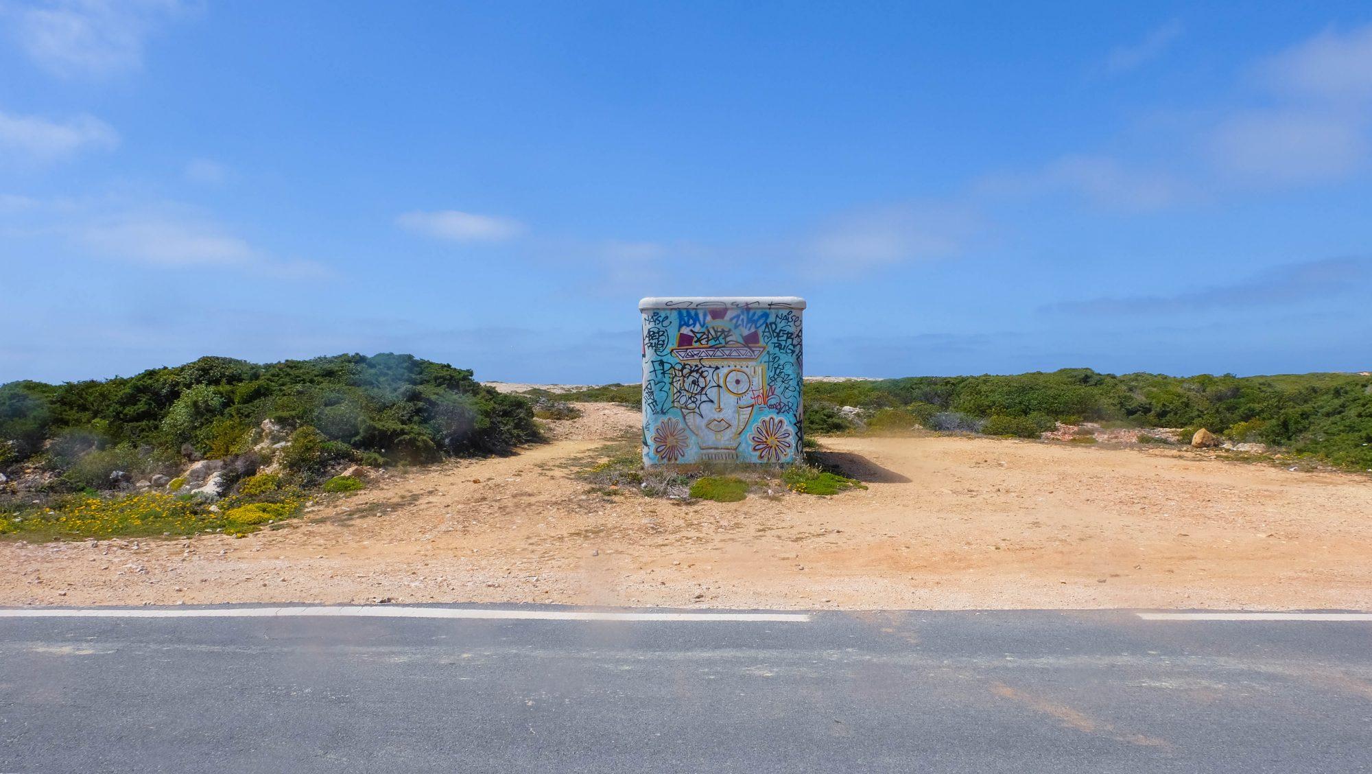 Local sur la route - Sagres, Portugal
