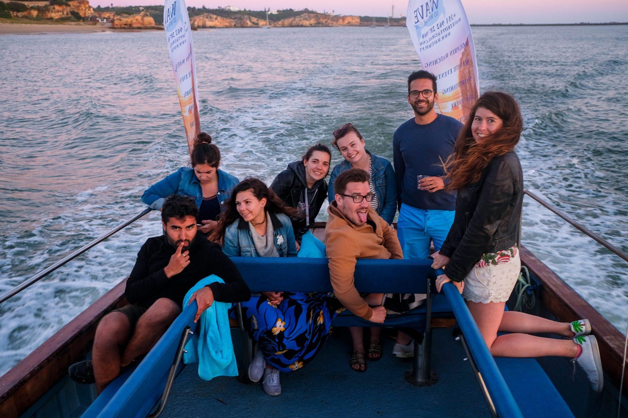 Balade en bateau - portimao Algarve