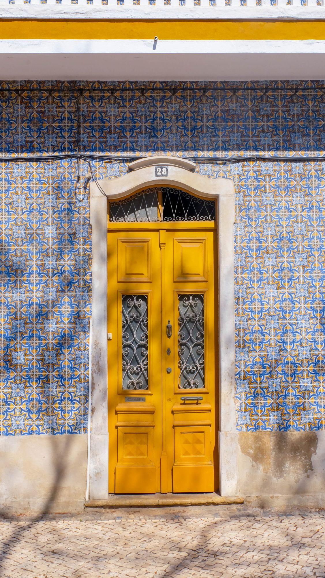 Porte avec Faience - Faro, Portugal