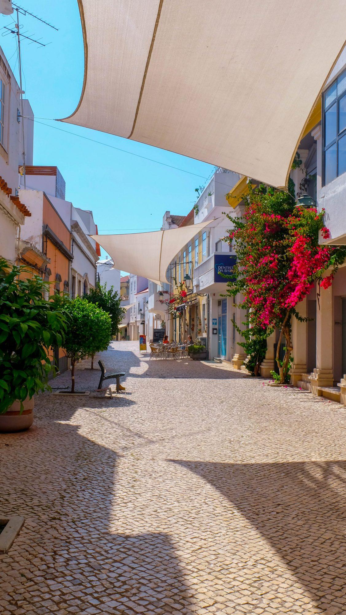 Ombrelles - Faro, Portugal