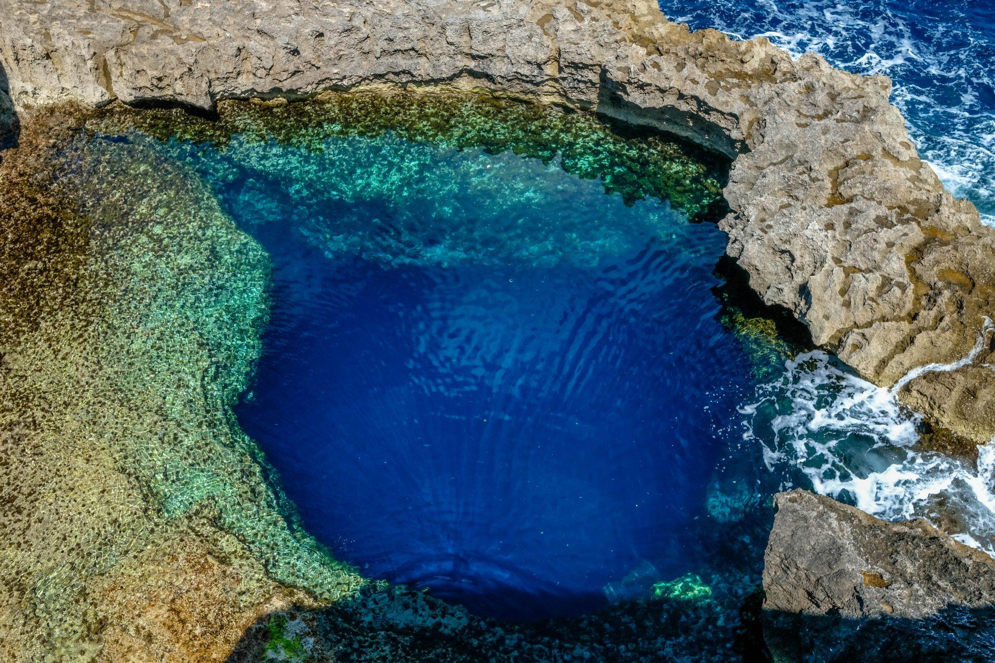 Un lieu magnifique à faire quand on va à Malte : Blue Hole