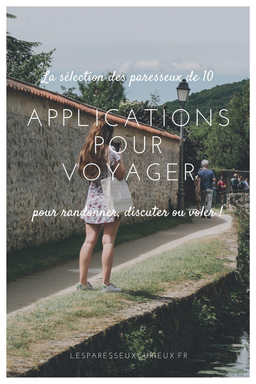 Pinterest pour les applications mobile pour voyager