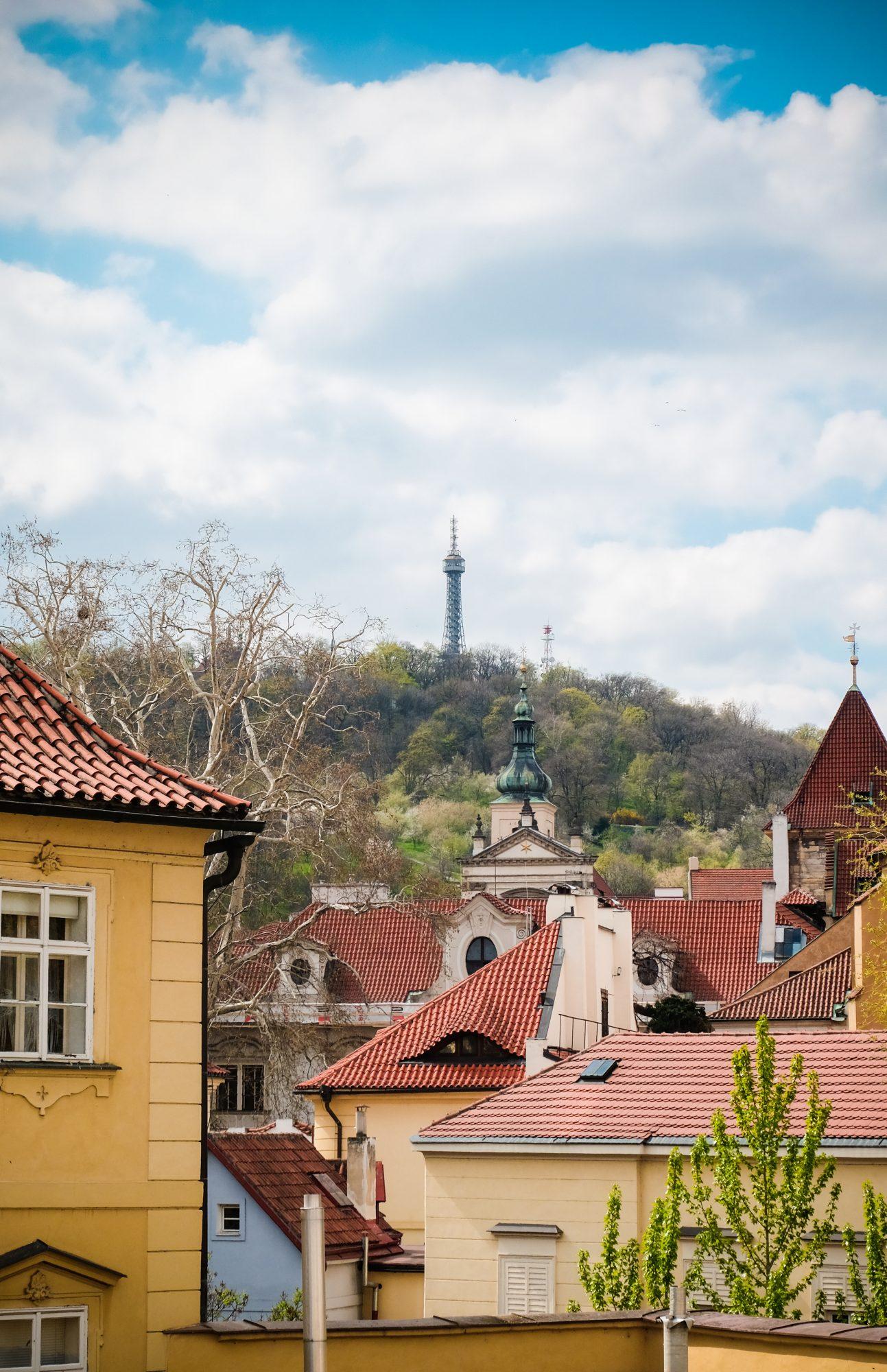 Petite tour Eiffel de Prague