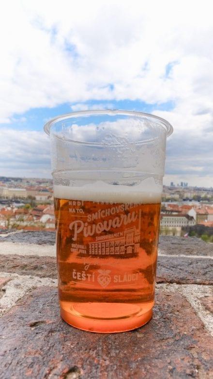 Petite bière sur les remparts