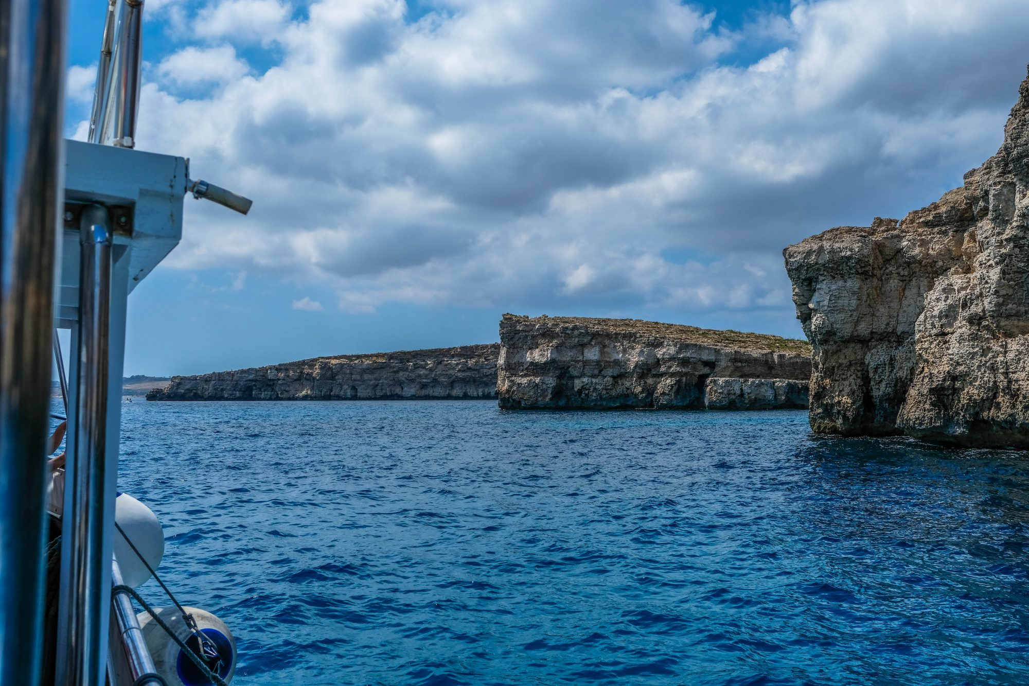 Arrivée sur Comino - Malte