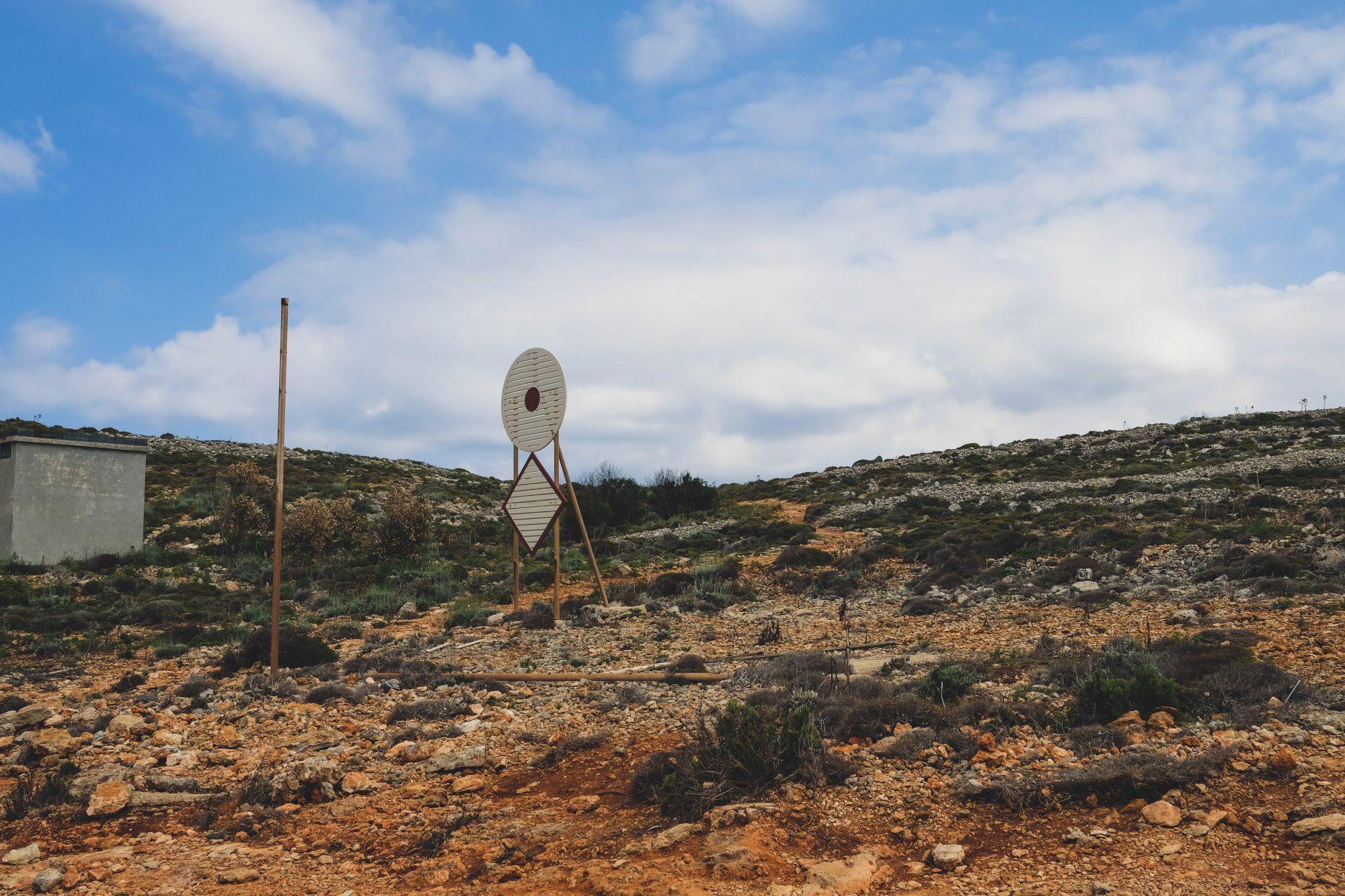Comino à Malte : plaine aride