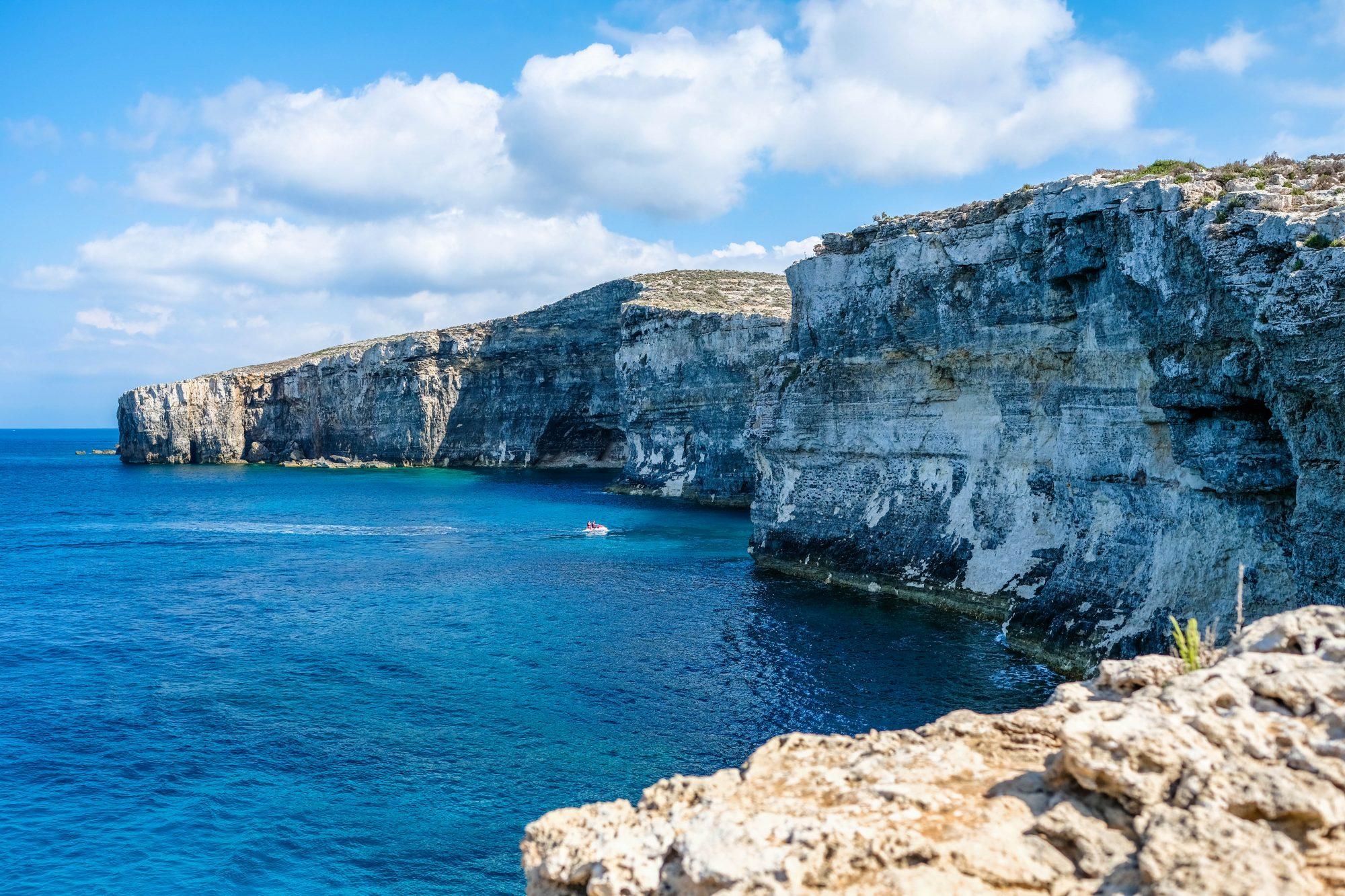 Falaises de Comino - Malte