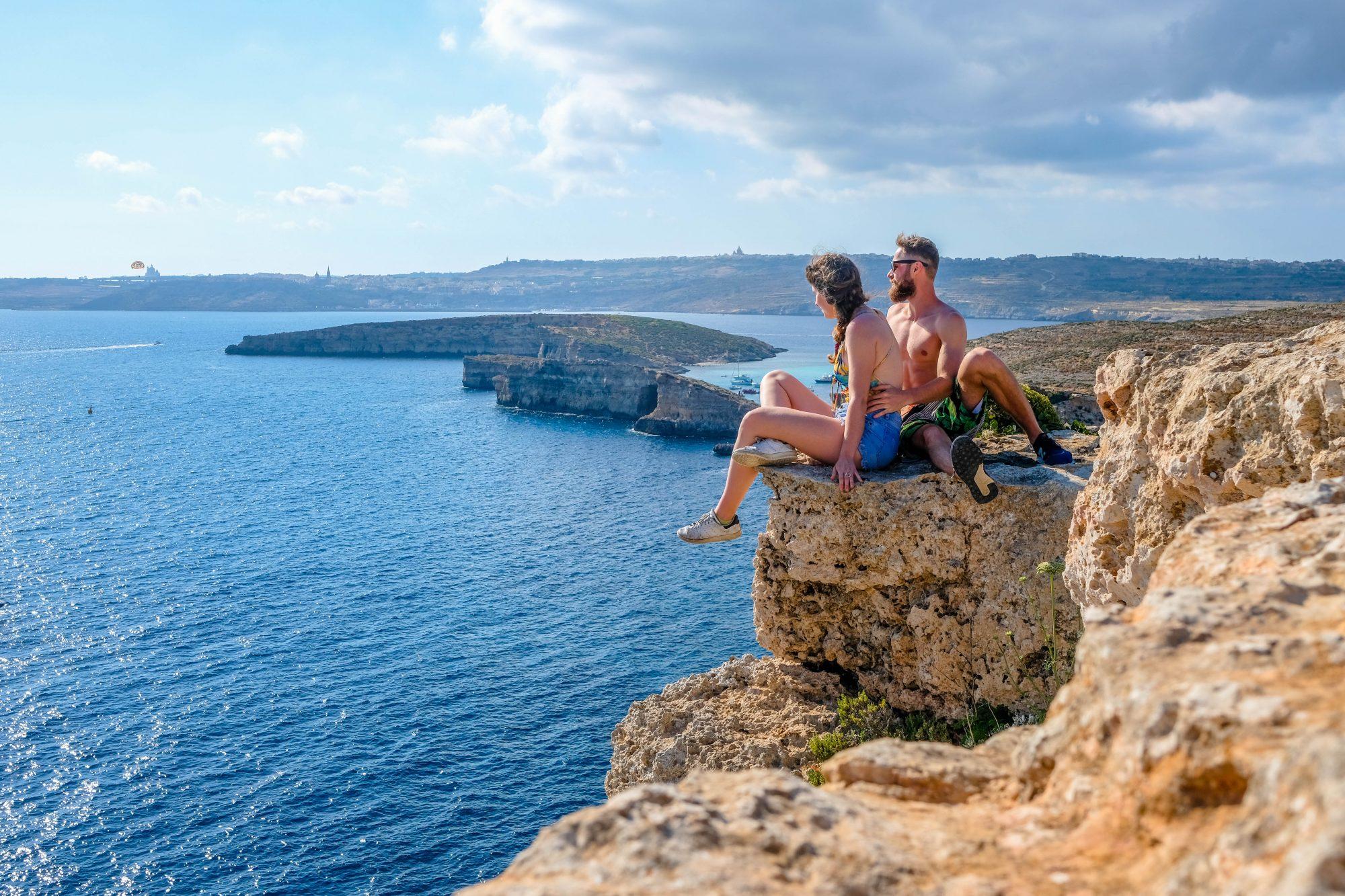Les paresseux curieux- Comino Malte