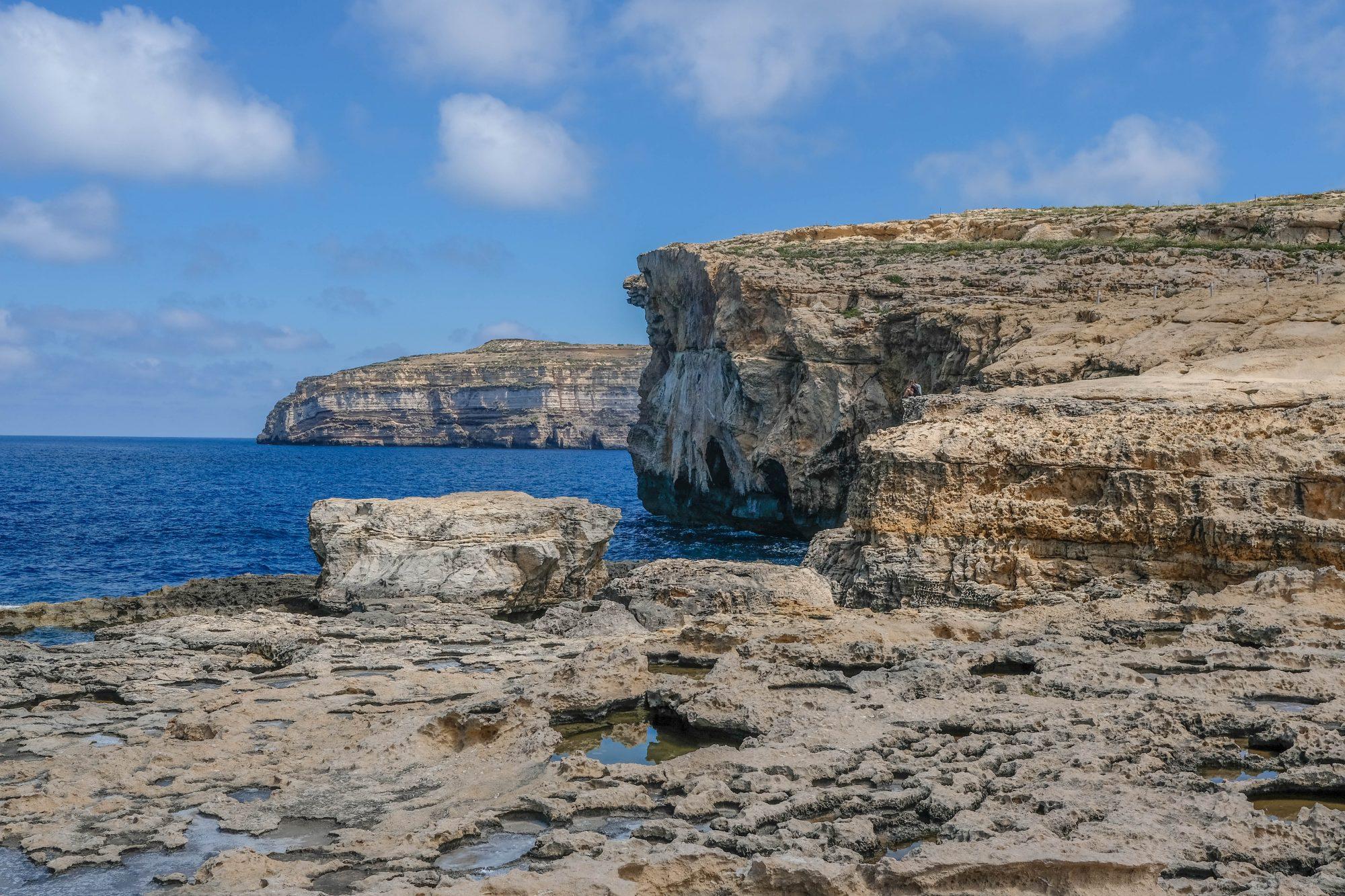 Restes de l'Azur Window - Gozo Malte
