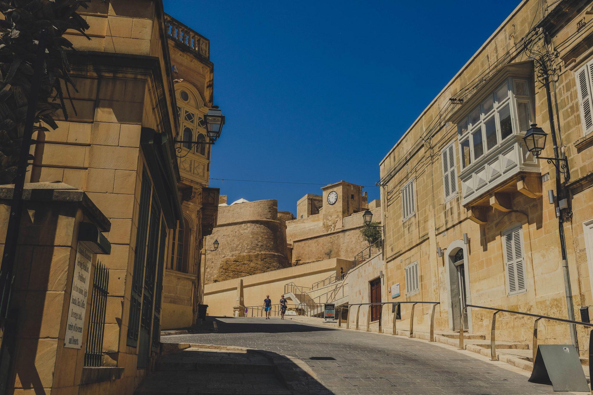 Direction la citadelle - Ir-Rabat Gozo Malte