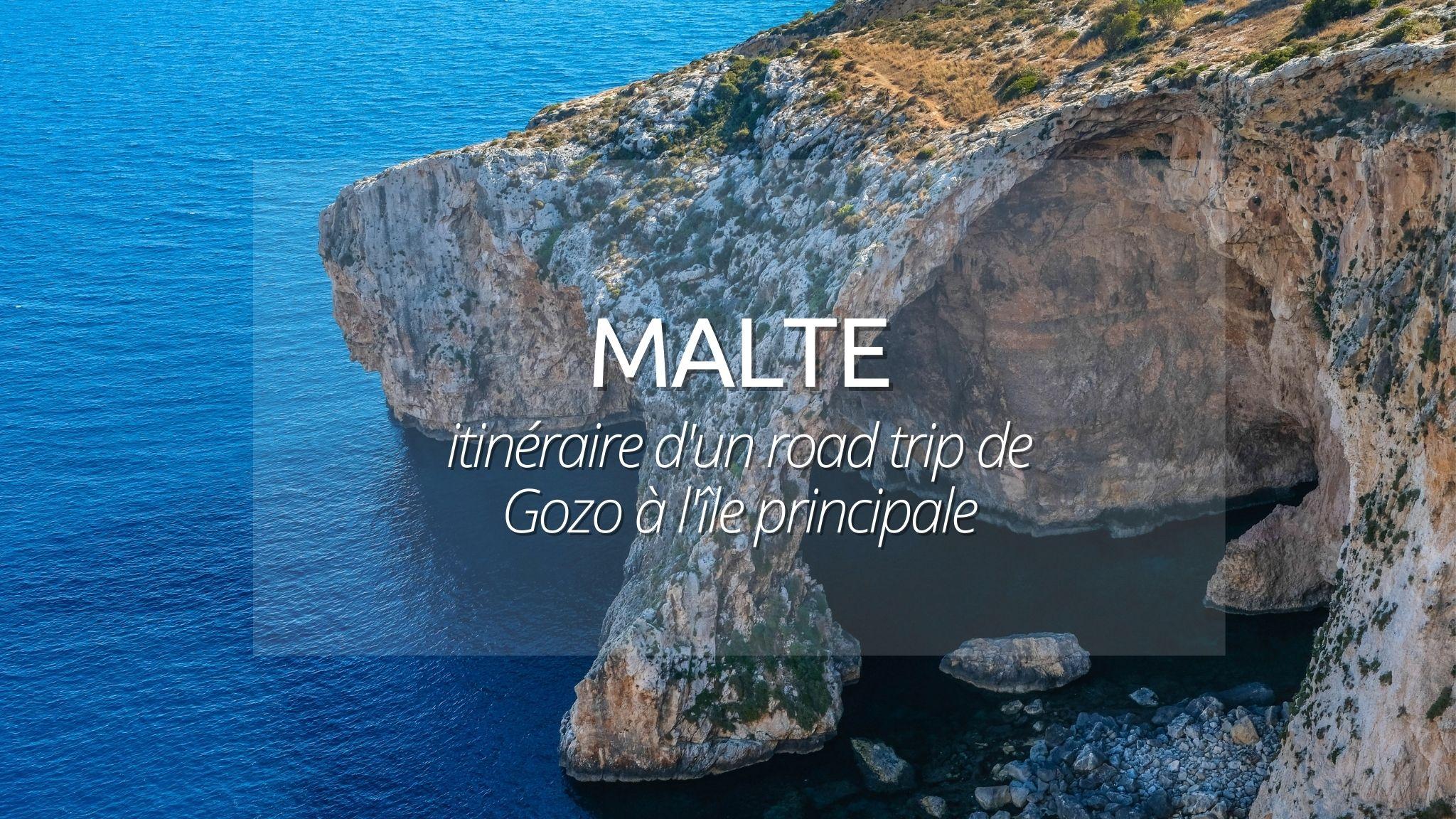 Malte : Roadtrip de 3 jours en amoureux