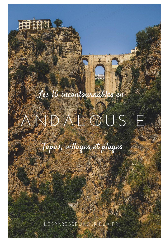 Epingle Pinterest que faire en Andalousie