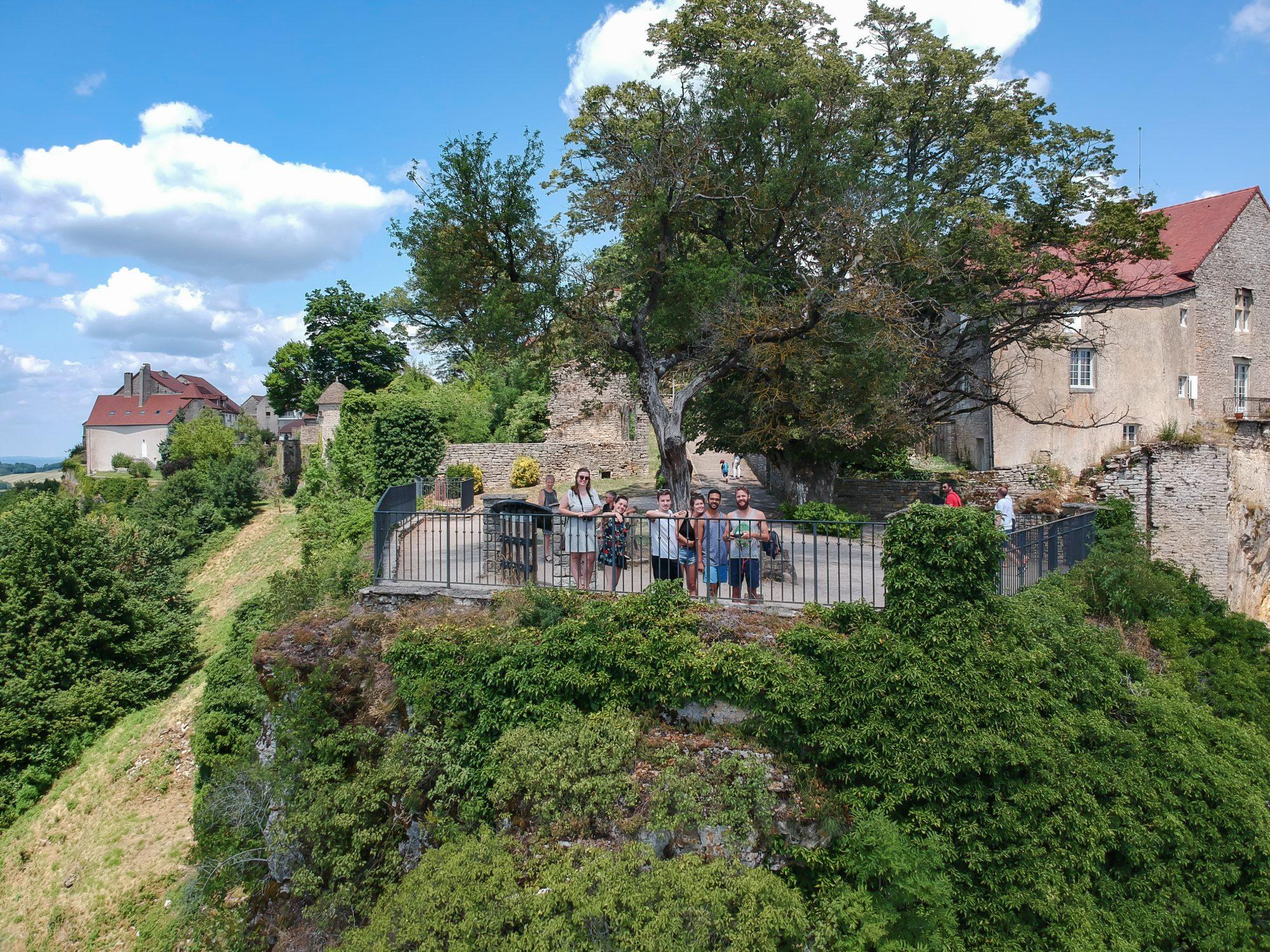 La bande depuis le Belvédère - Château-Chalon, Jura