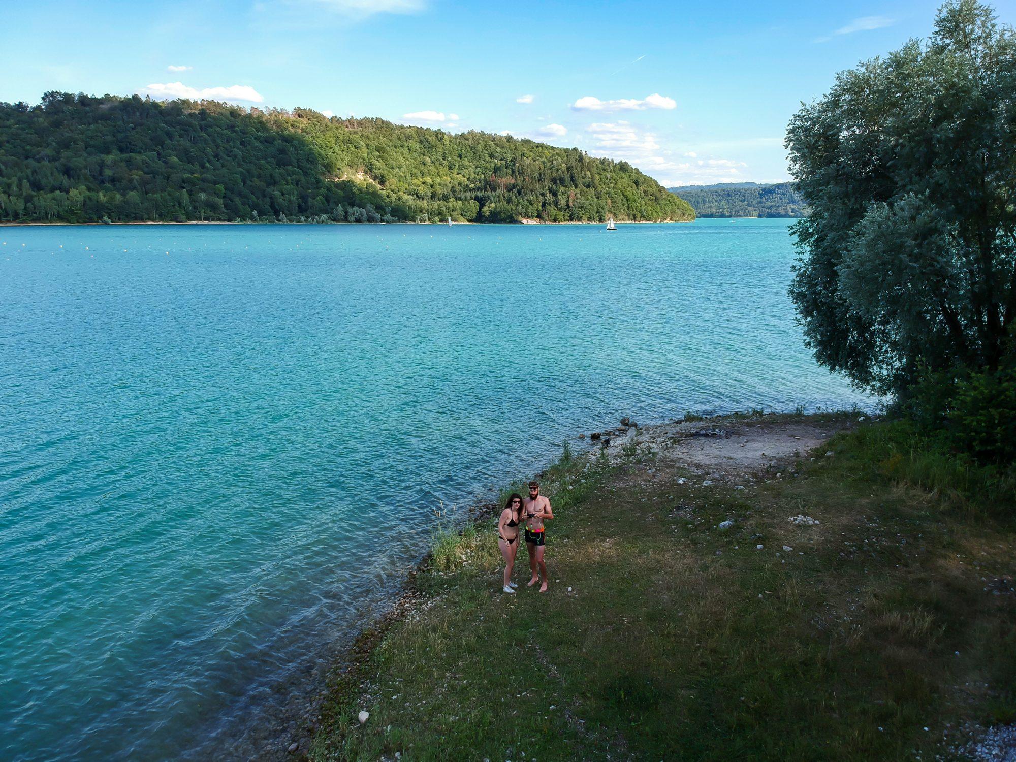 Drone en vue dans le Jura ! - Lac de Vouglans Orgelet