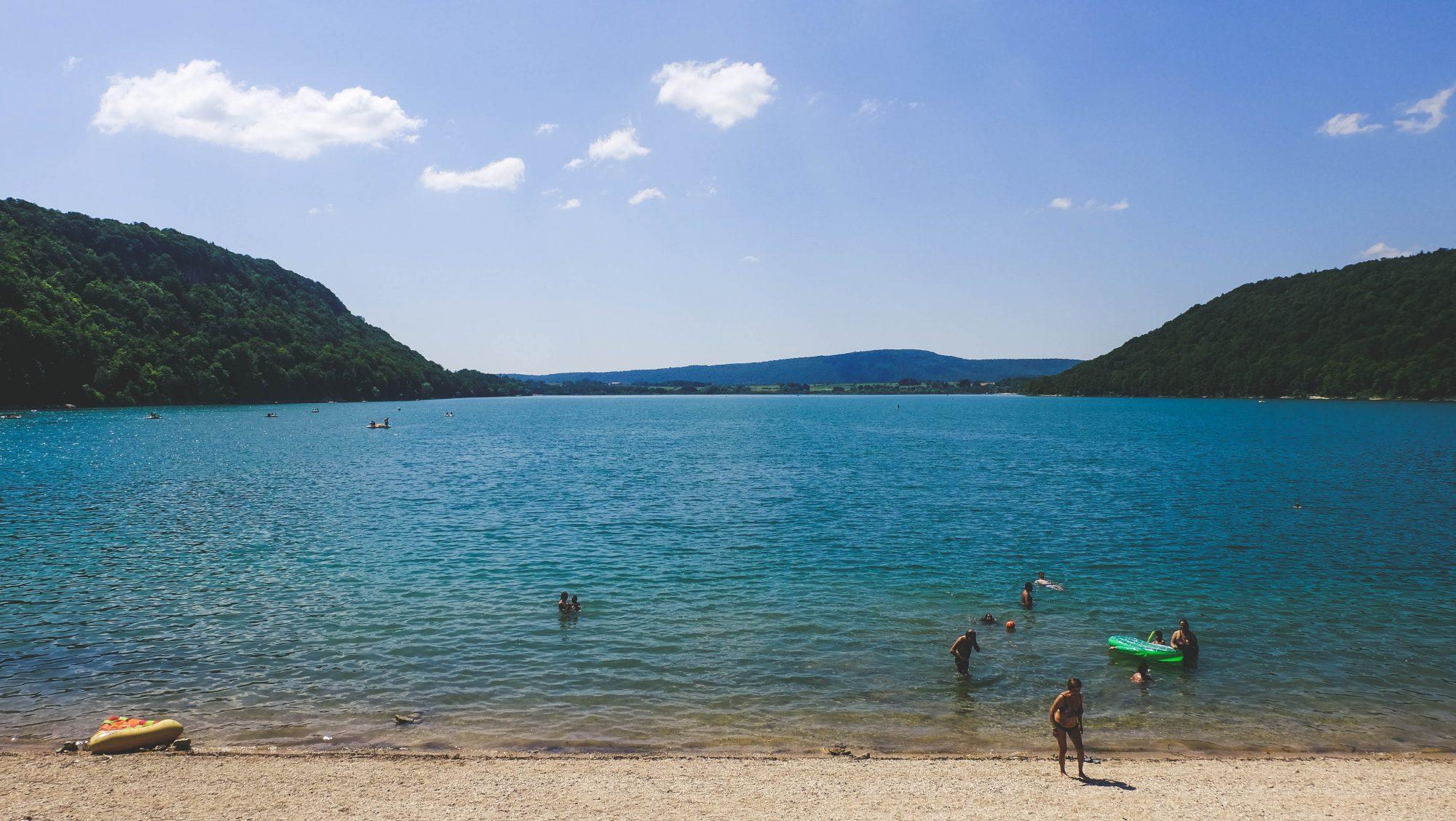 Lac de Chalain - Lac de Chalain, Fontenu