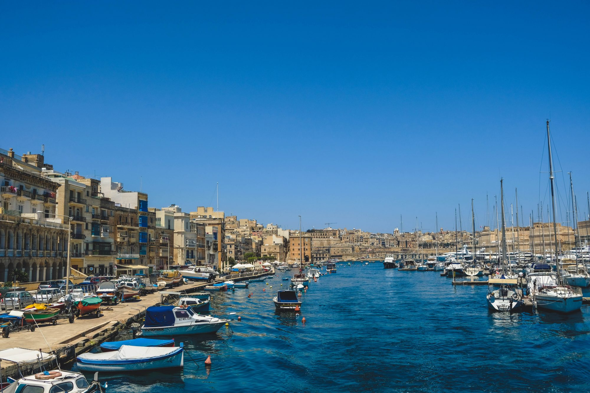 Ruelle sur le port - Il Birgu La Valette Malte