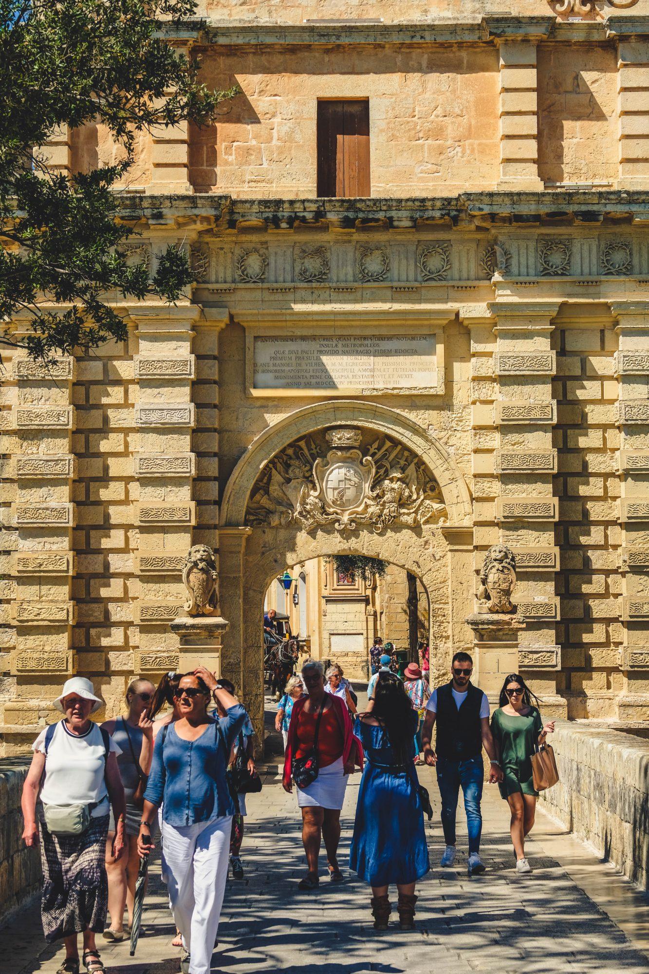 Entrée de Mdina - L-Imdina Malte