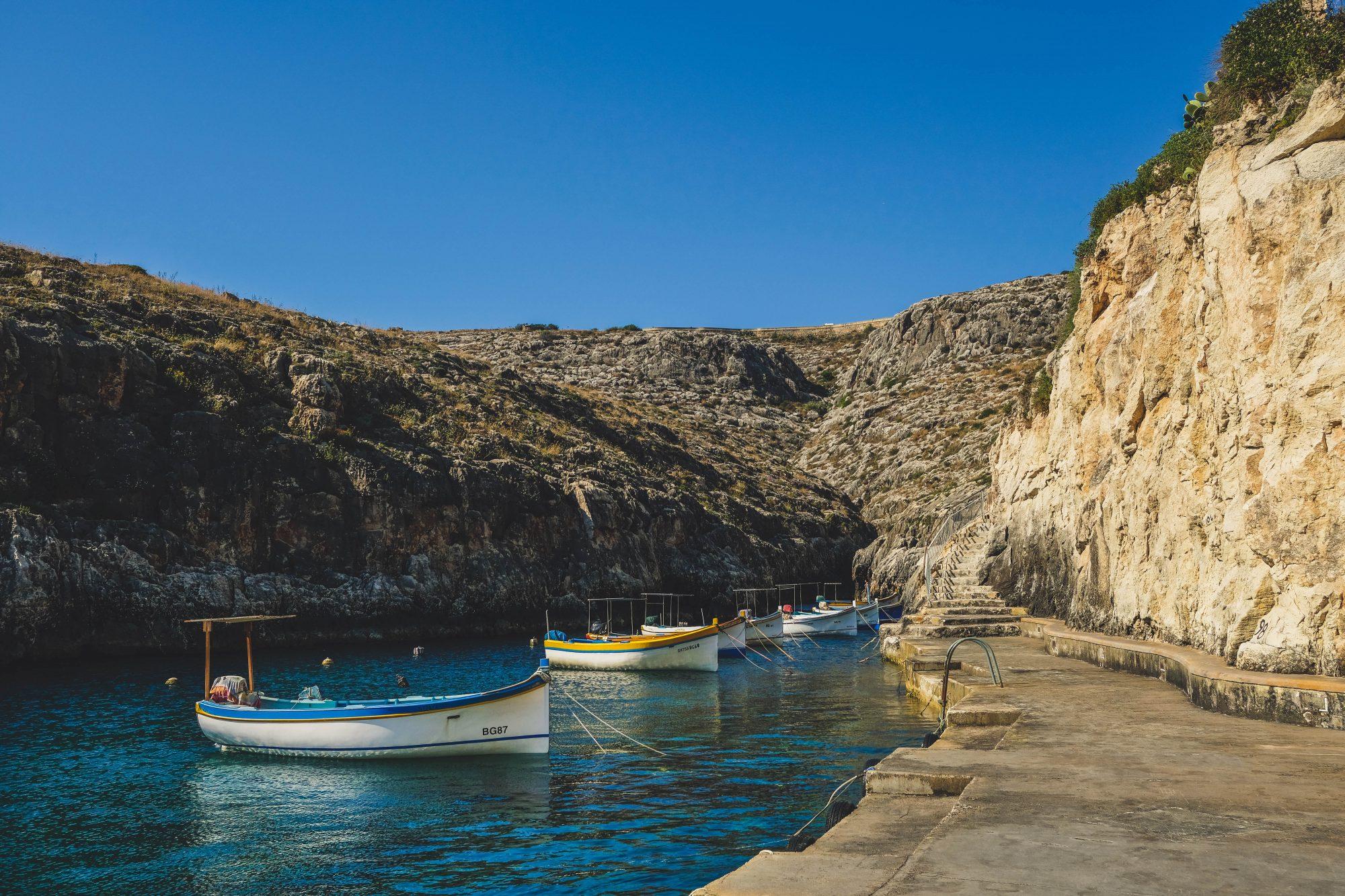Mini port - Il-Qrendi, Malte