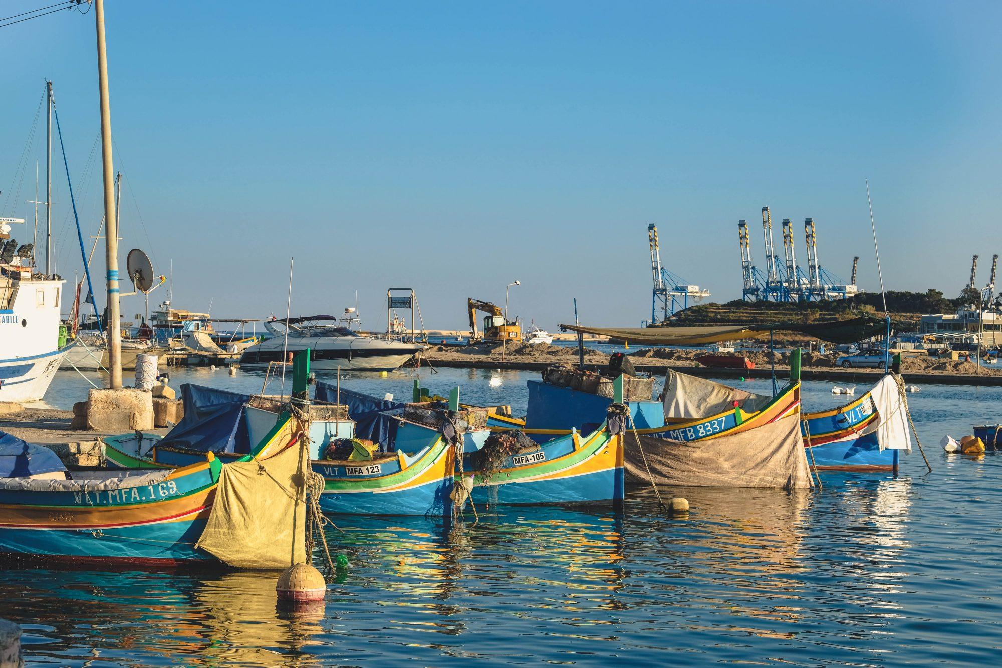 Luzzu Maltais - Marsaxlokk, Malte