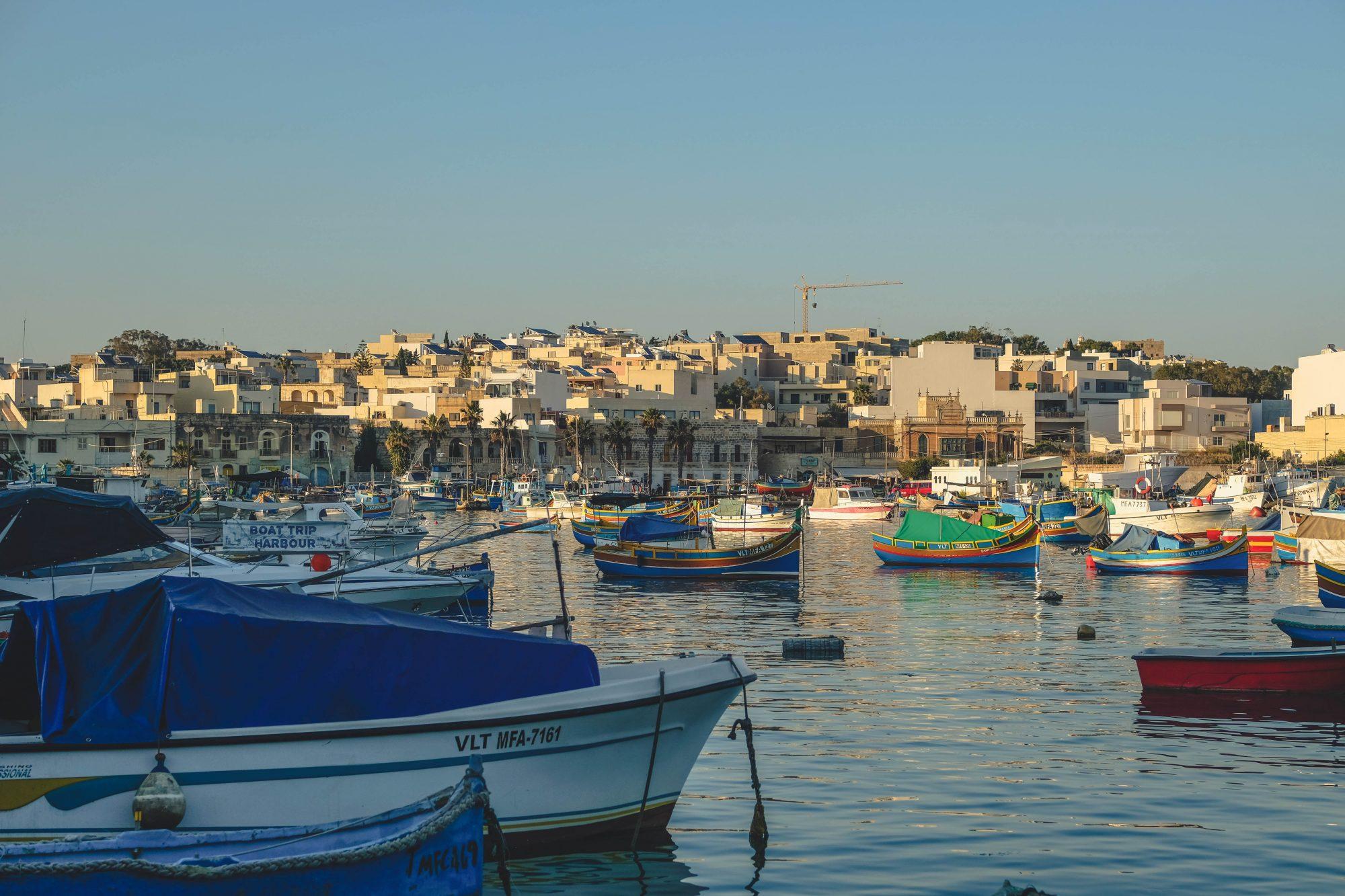 Port de Marsalokx - Marsaxlokk, Malte