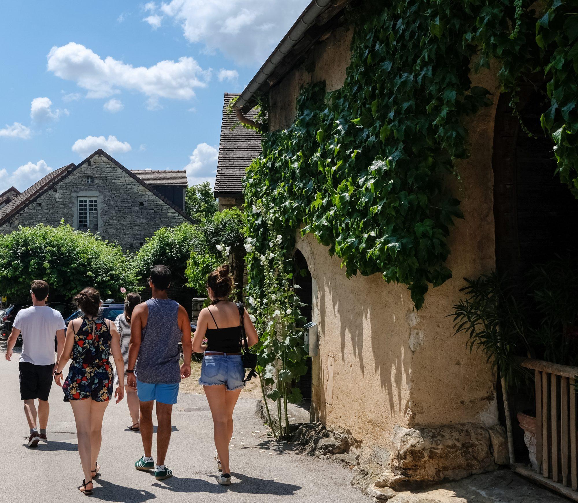 Les copains - Chateau-Chalon, Jura
