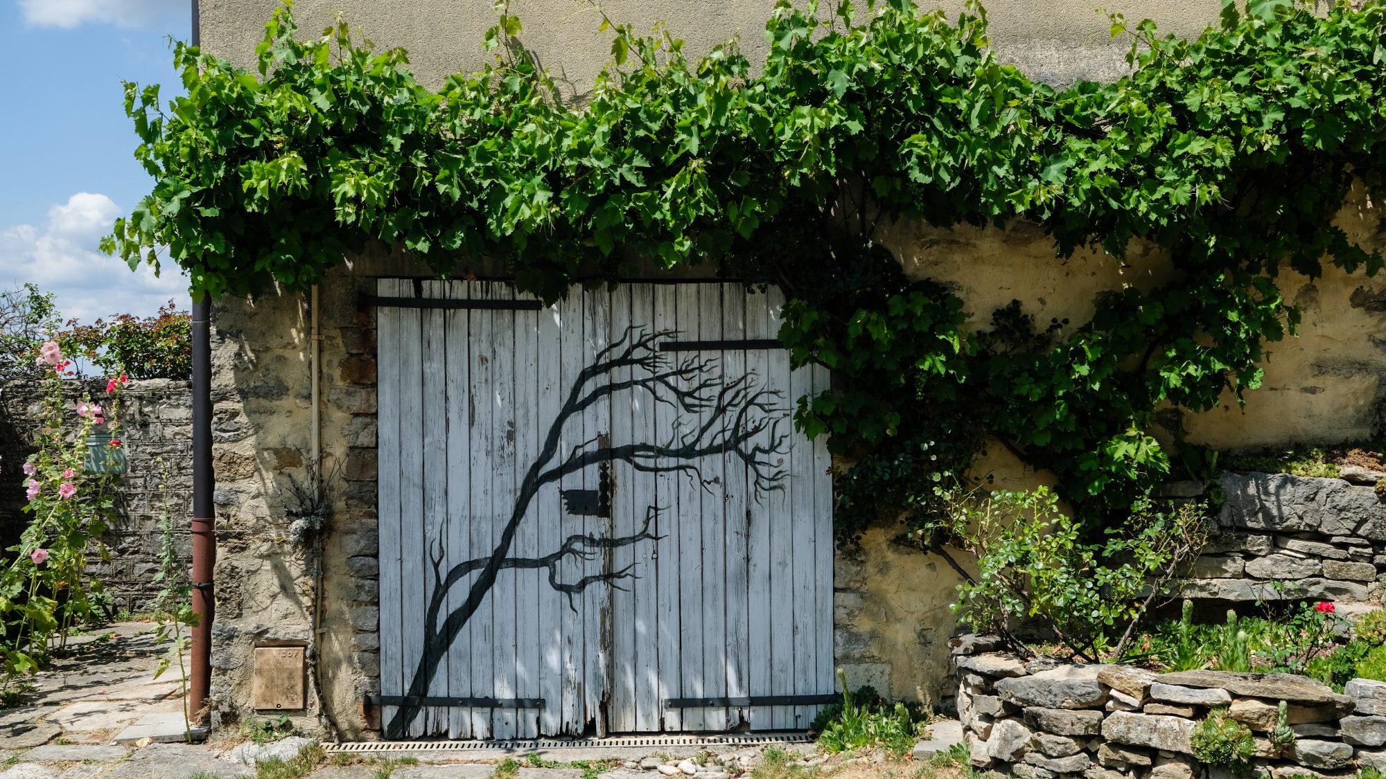 Street Art Jurasien - Chateau-Chalon, Jura