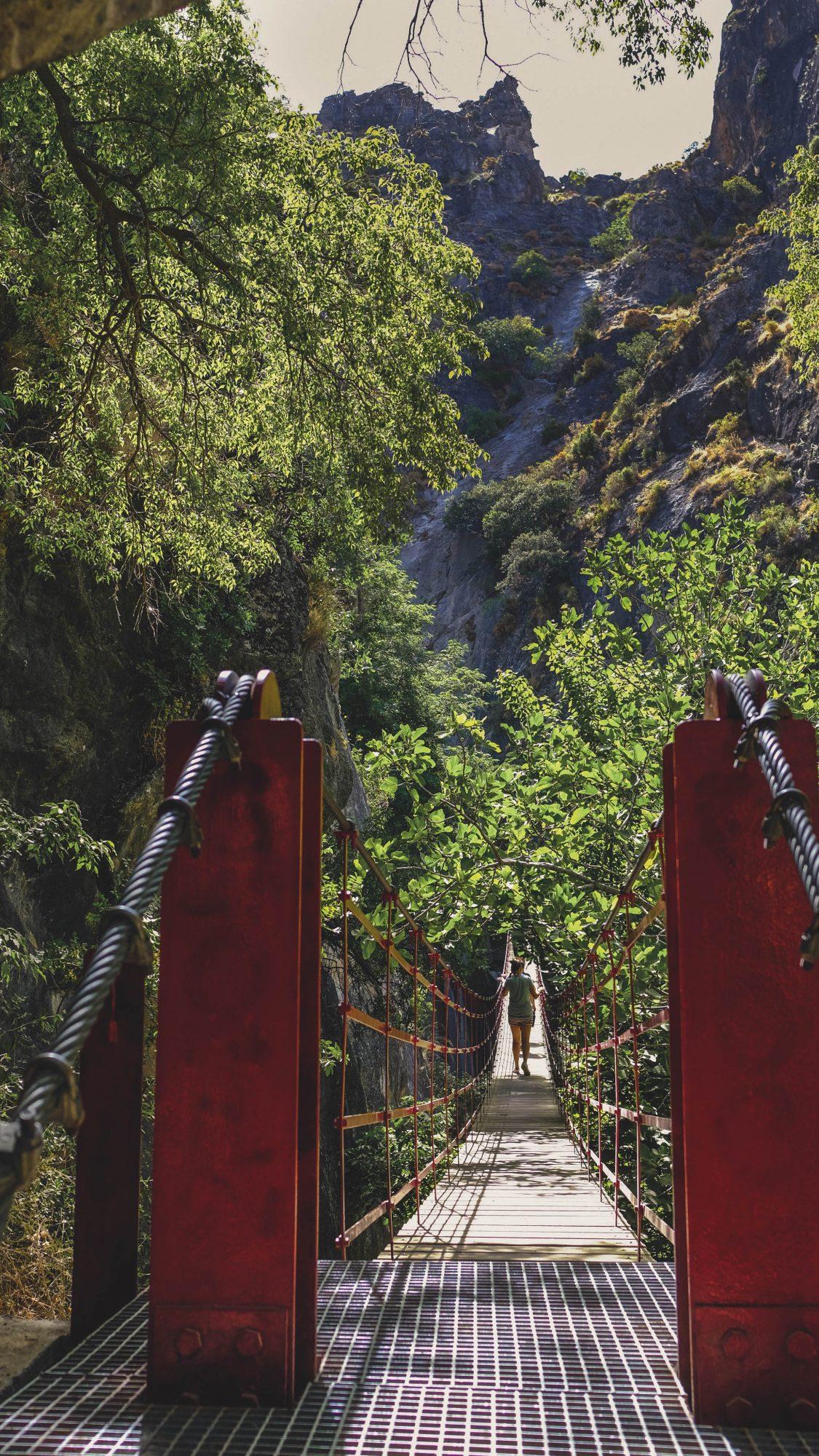 Pont suspendu de Los Cahorros