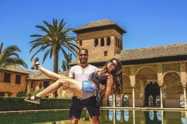 Les paresseux prennent la pose à l'Alhambra