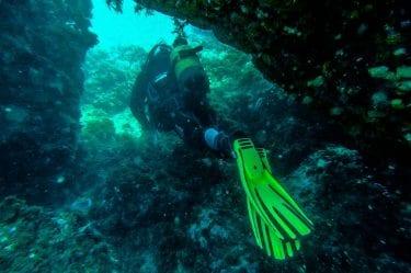 Grotte sous-marine