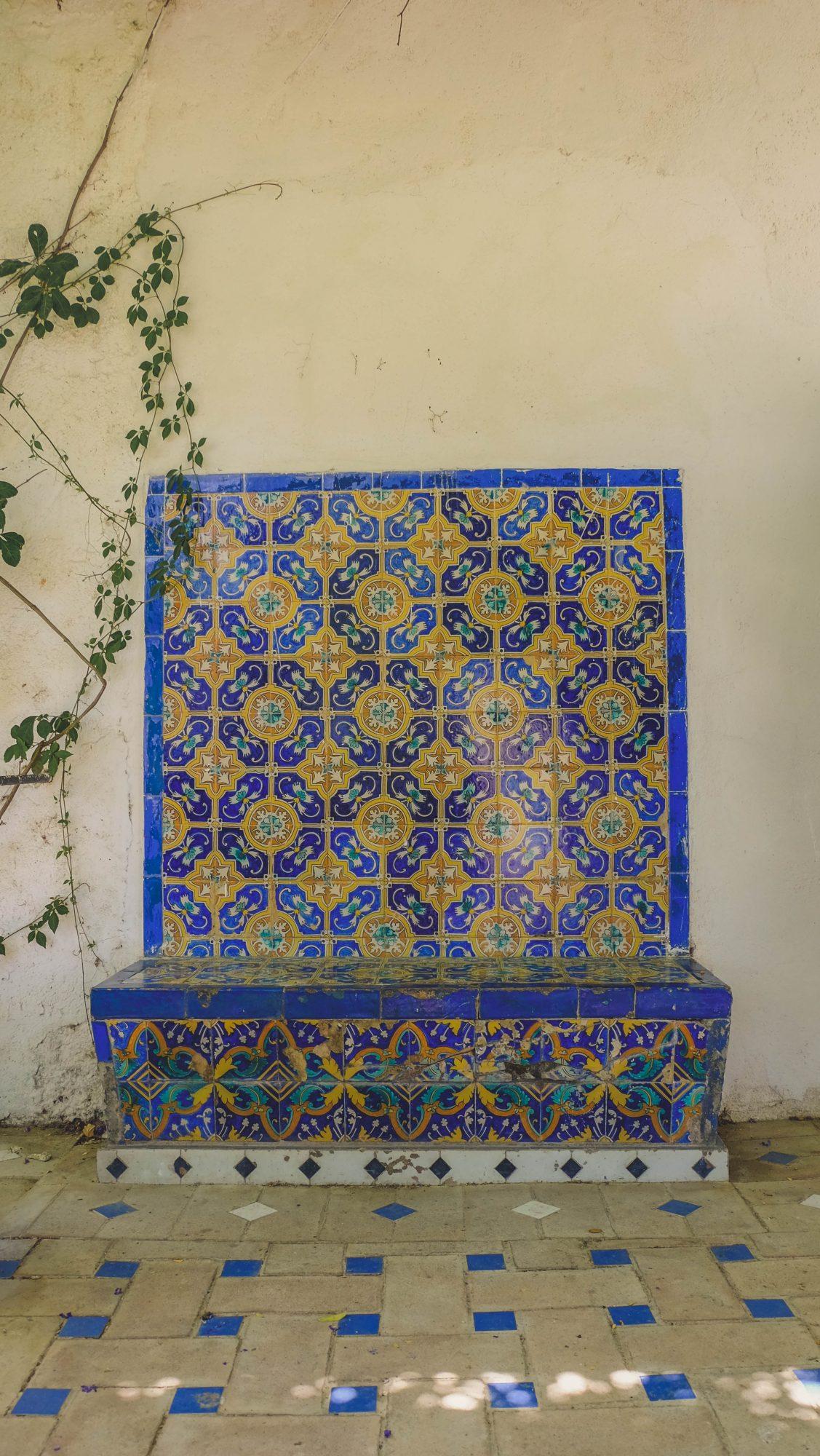 Mosaique - Ronda, Espagne