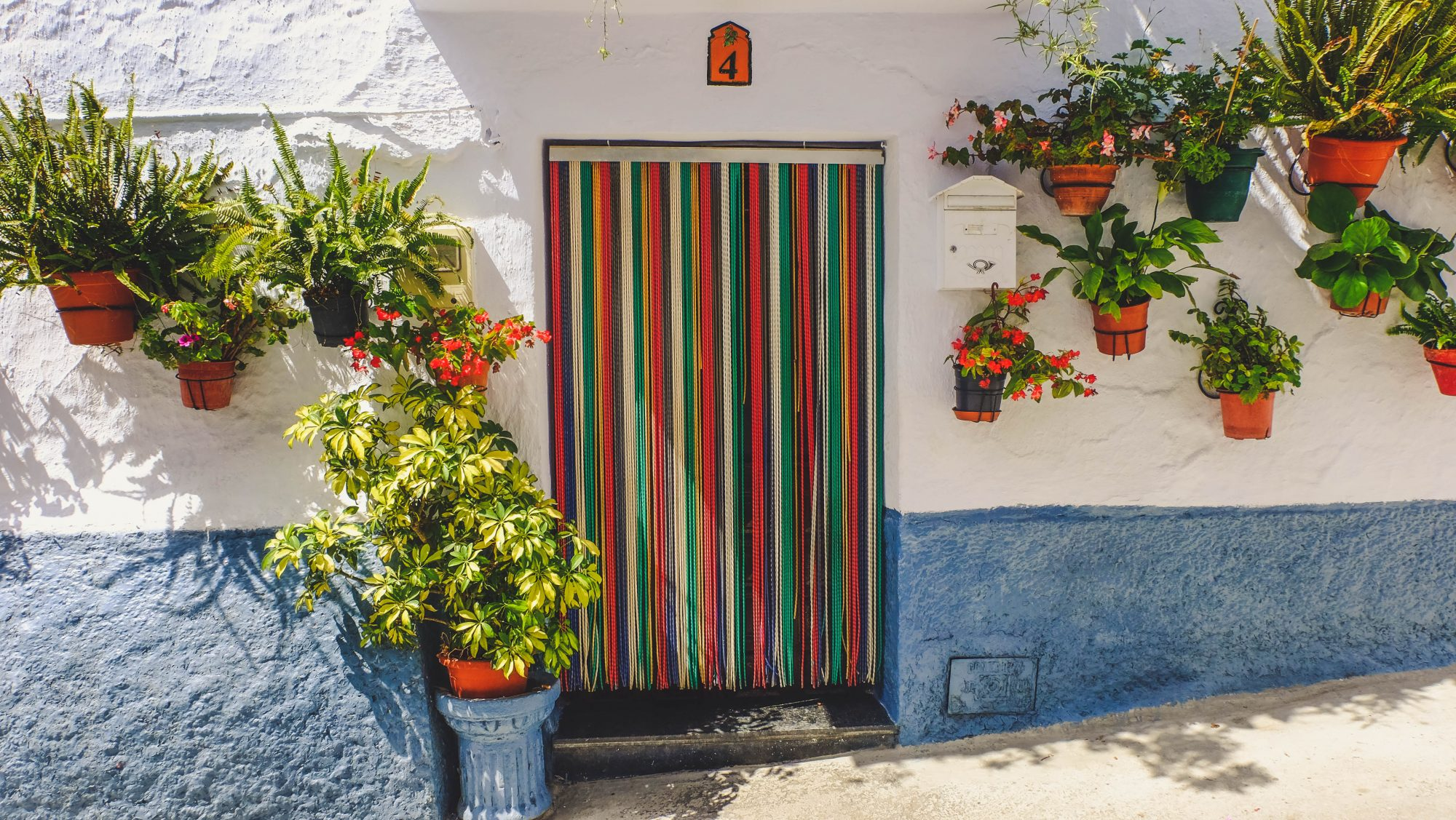 Assortiment de couleurs - Canillas de Aceituno, Espagne