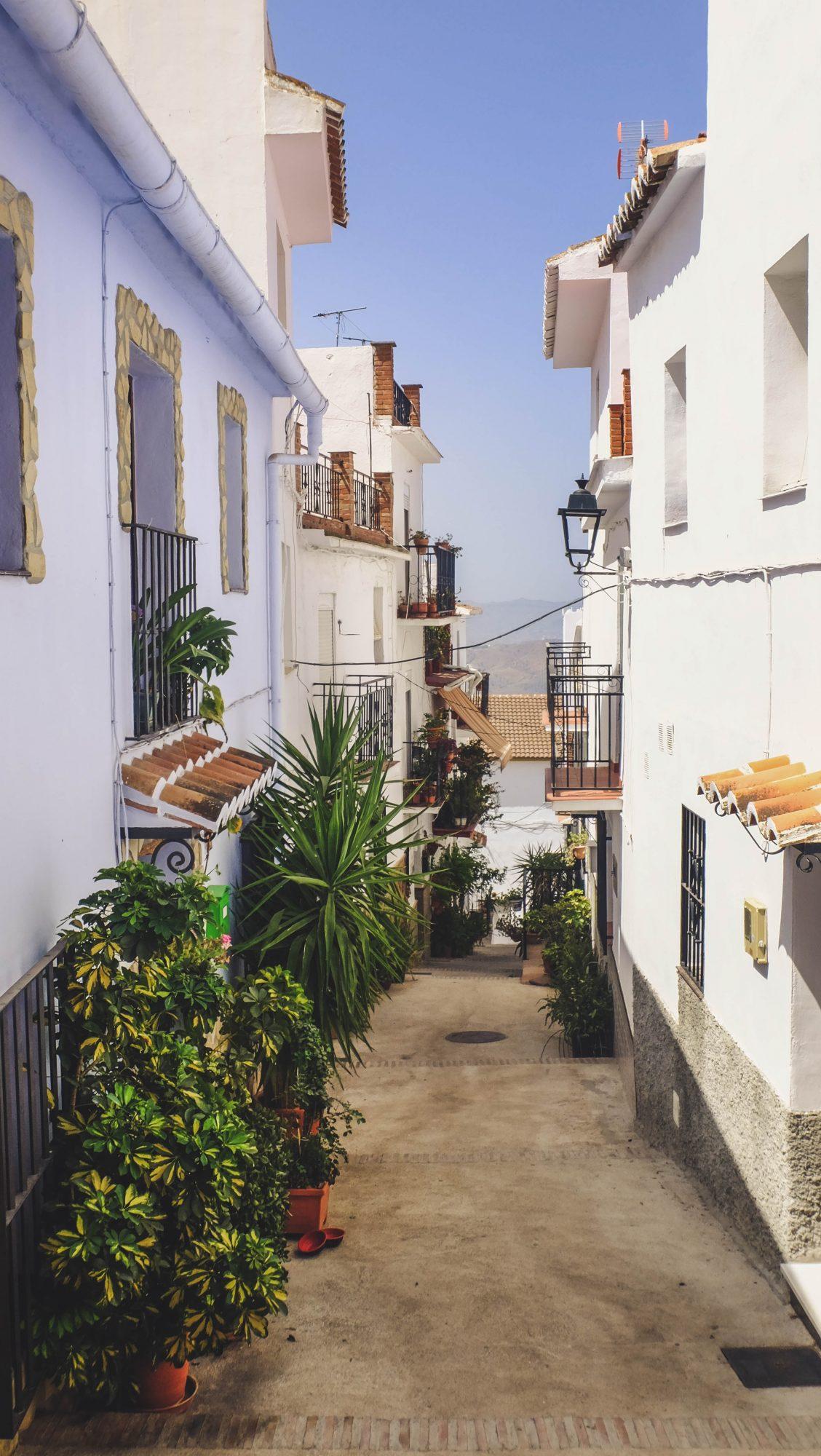 Ruelle typique - Canillas de Aceituno, Espagne