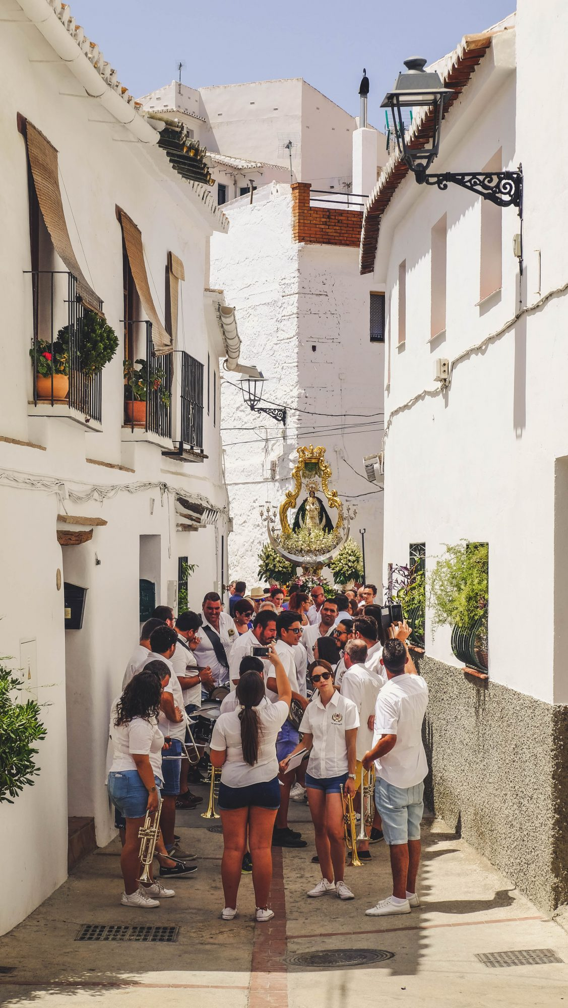 Le village de Sedella - Sedella, Espagne