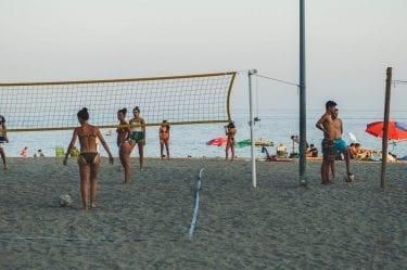 Une partie de beach volley ?