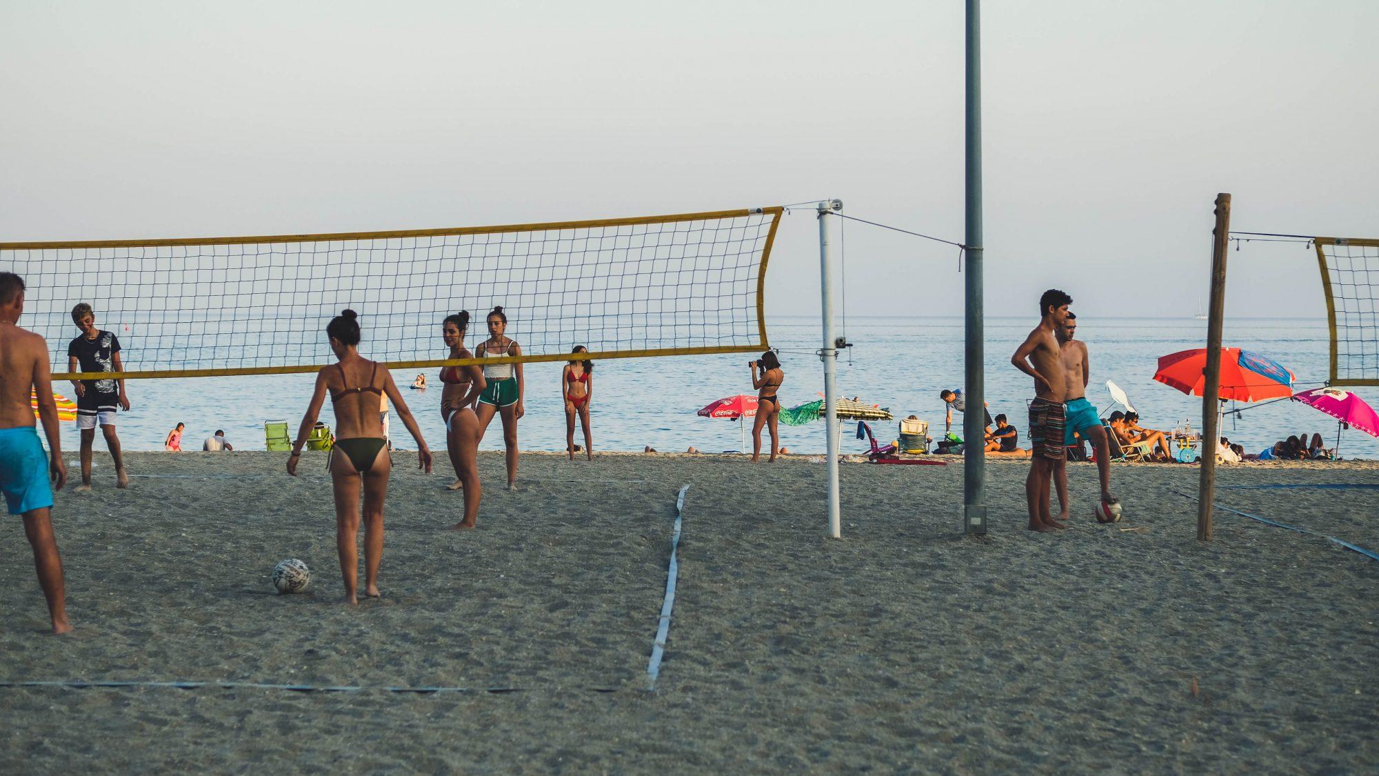 Compétition de Volley - Nerja, Espagne