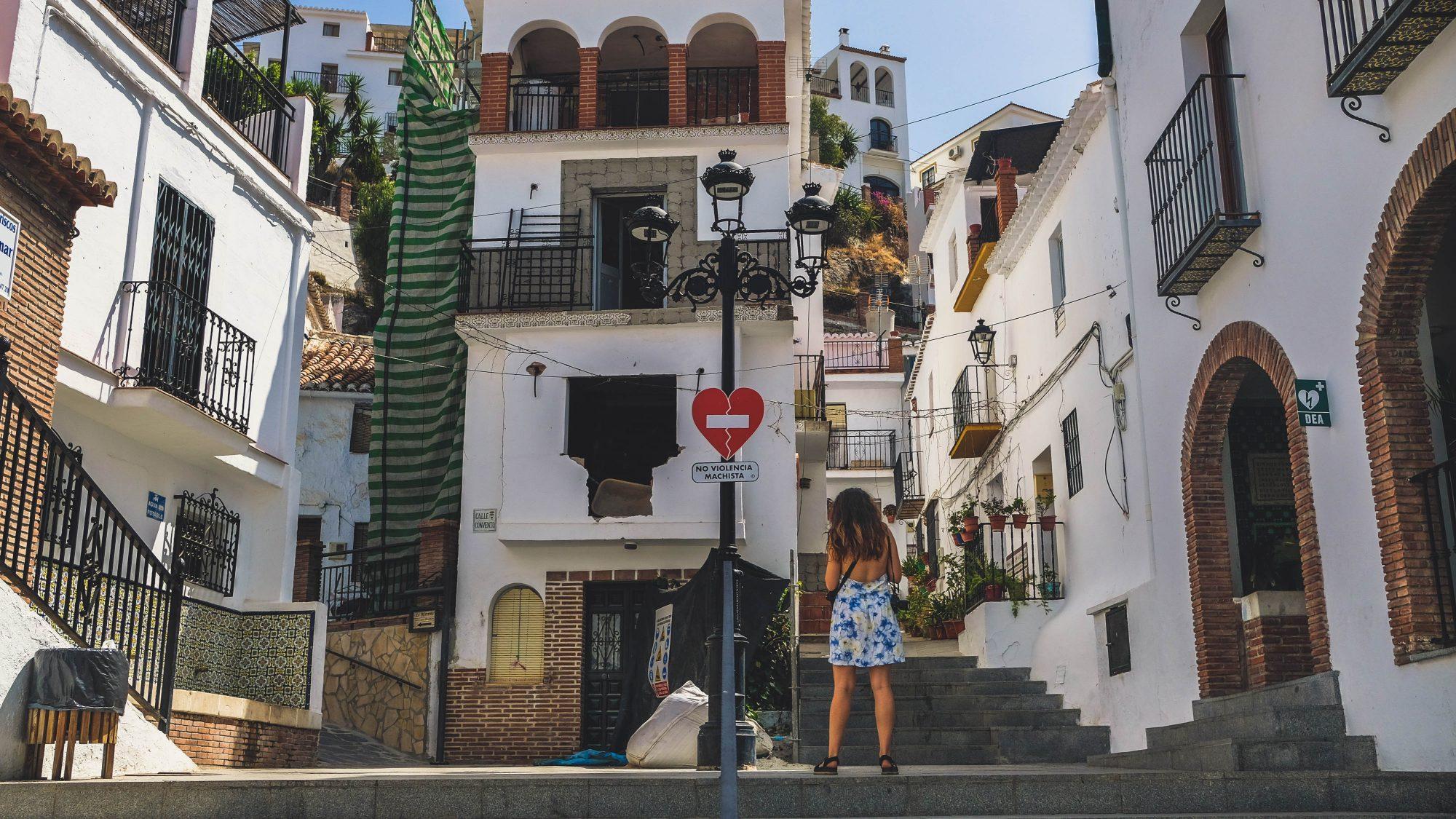 No Violencia Machista - Canillas de Aceituno, Espagne