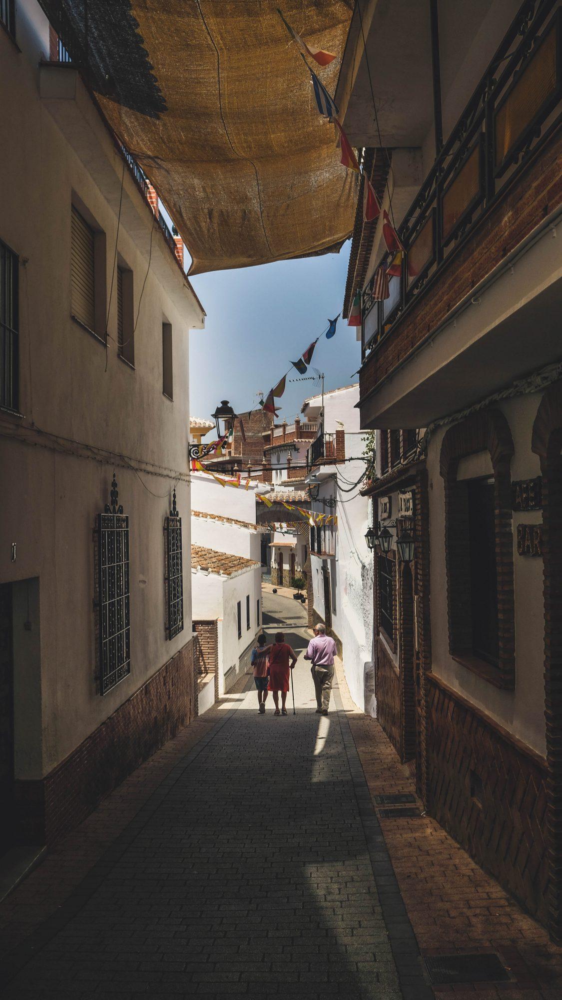 Fin de Sedella - Sedella, Espagne