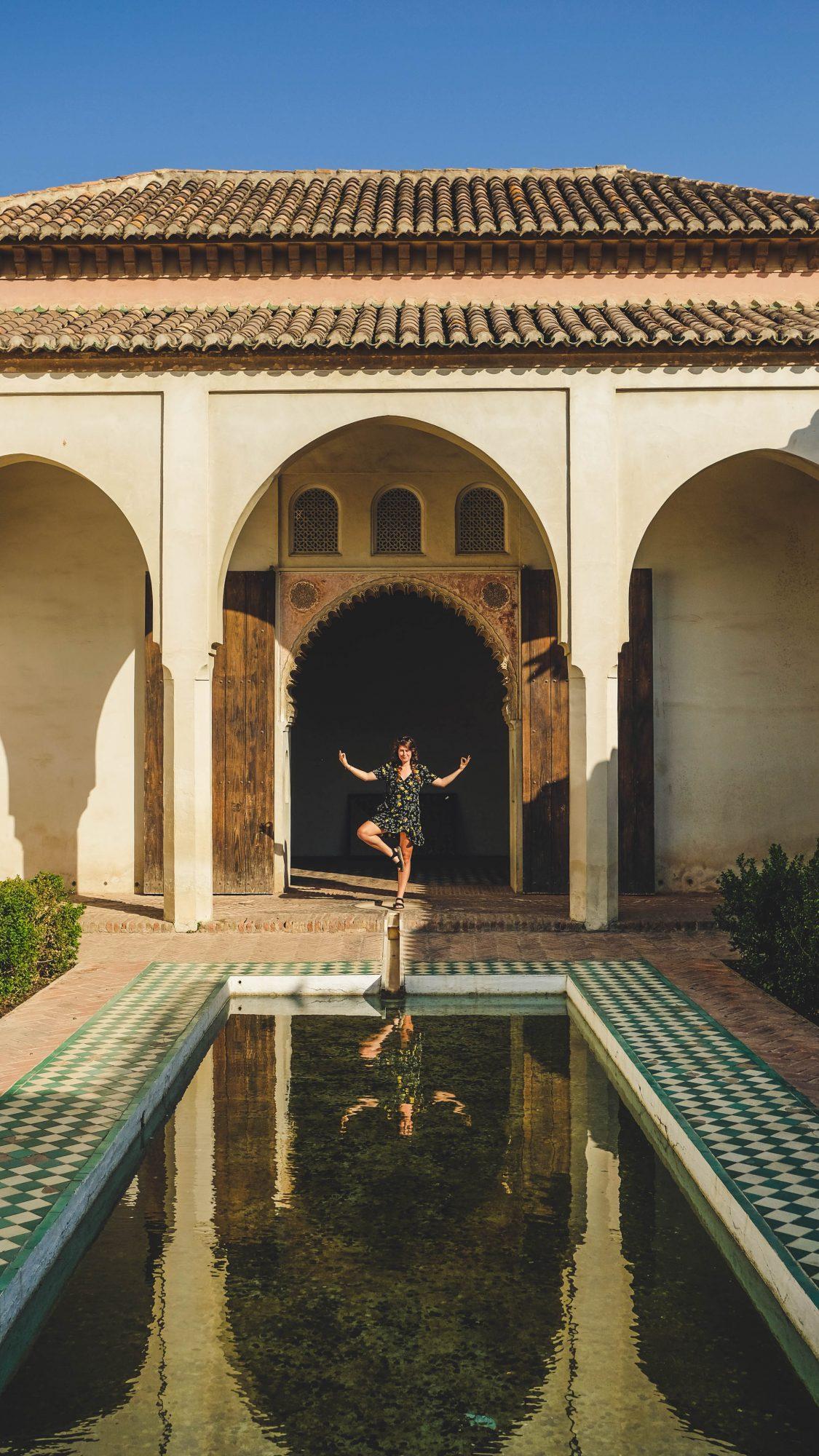Patio intérieur - Malaga, Espagne
