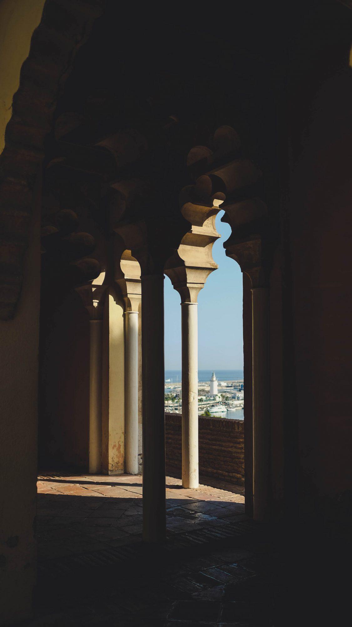 L'Alcazaba de Malaga - Malaga, Espagne
