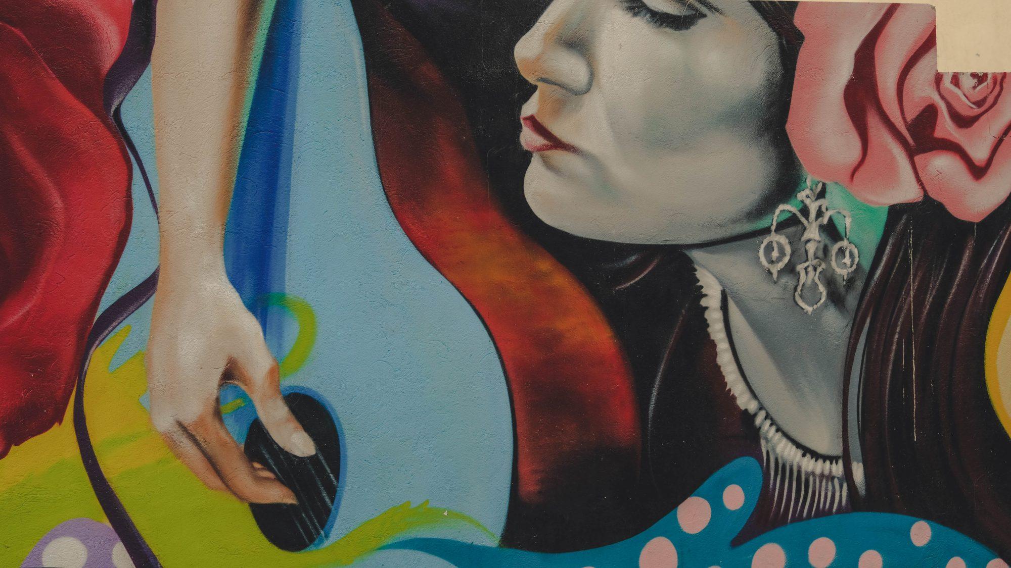 Joueuse de flamenco - Malaga, Espagne