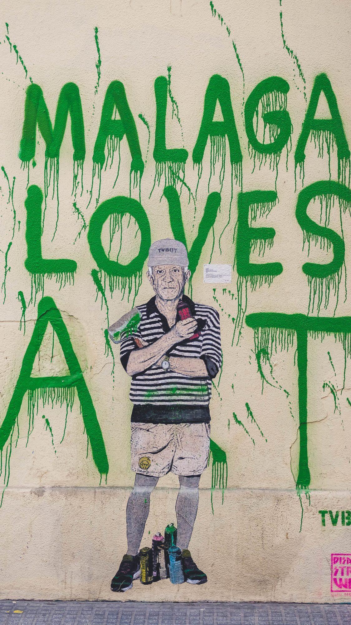 Malaga Loves Art 1.0 - Malaga, Espagne