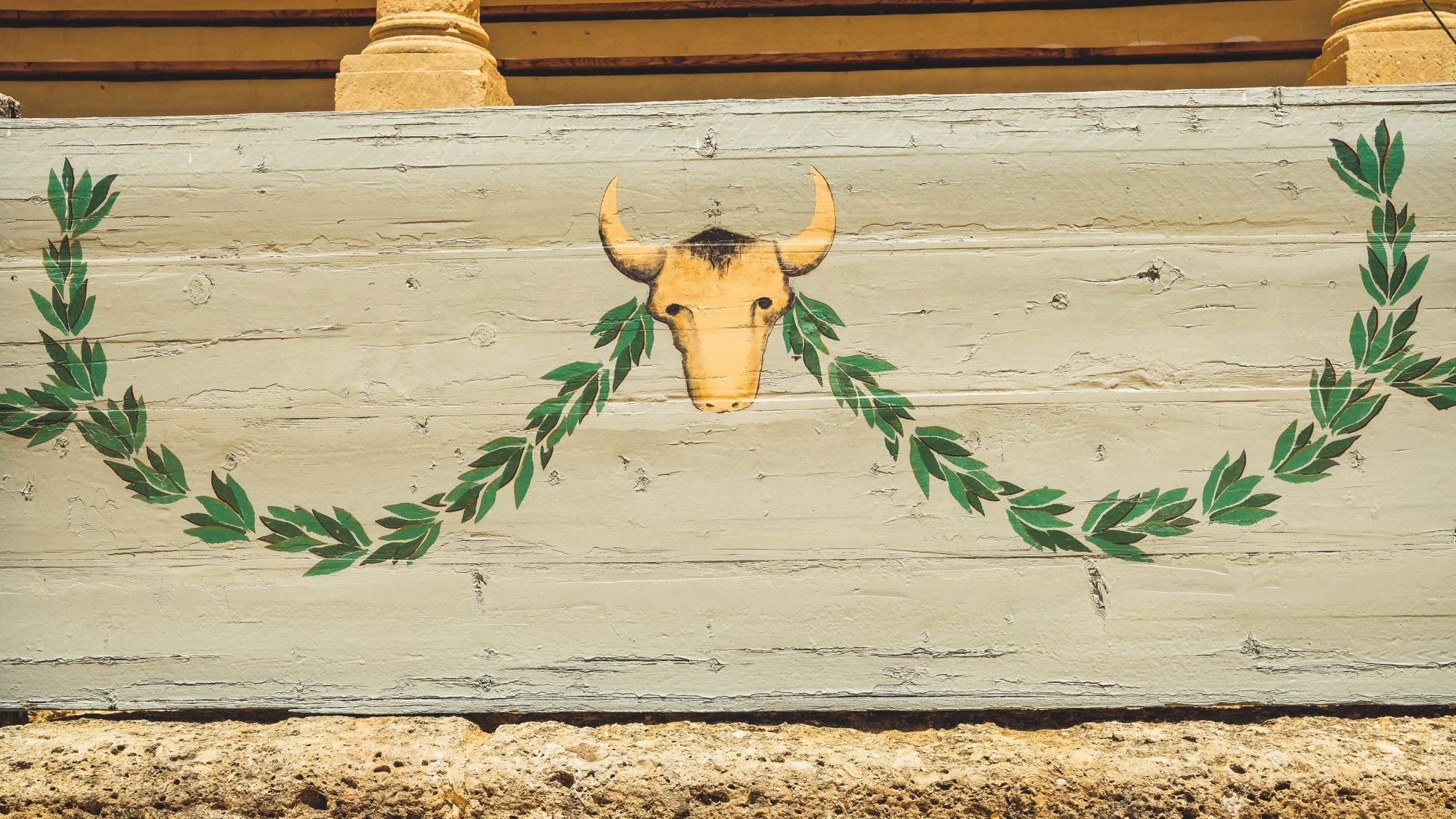 Décoration bovine - Ronda, Espagne