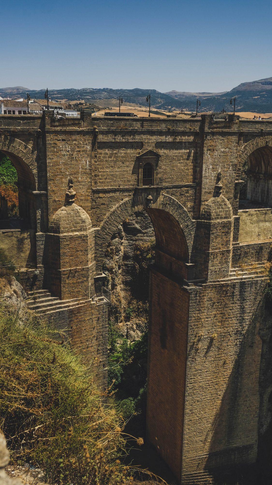 Pont neuf 100m de haut - Ronda, Espagne