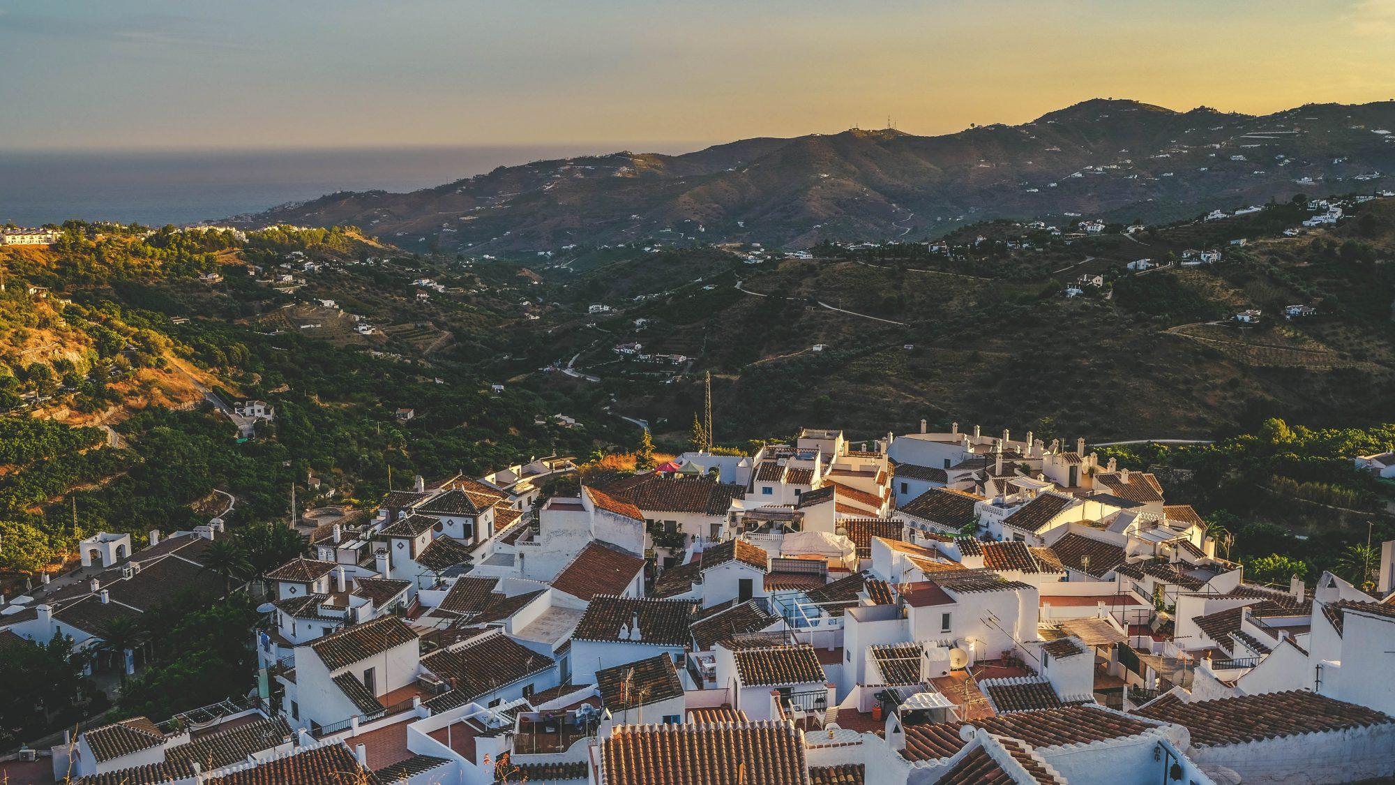 Le village ancien - Frigiliana, Espagne