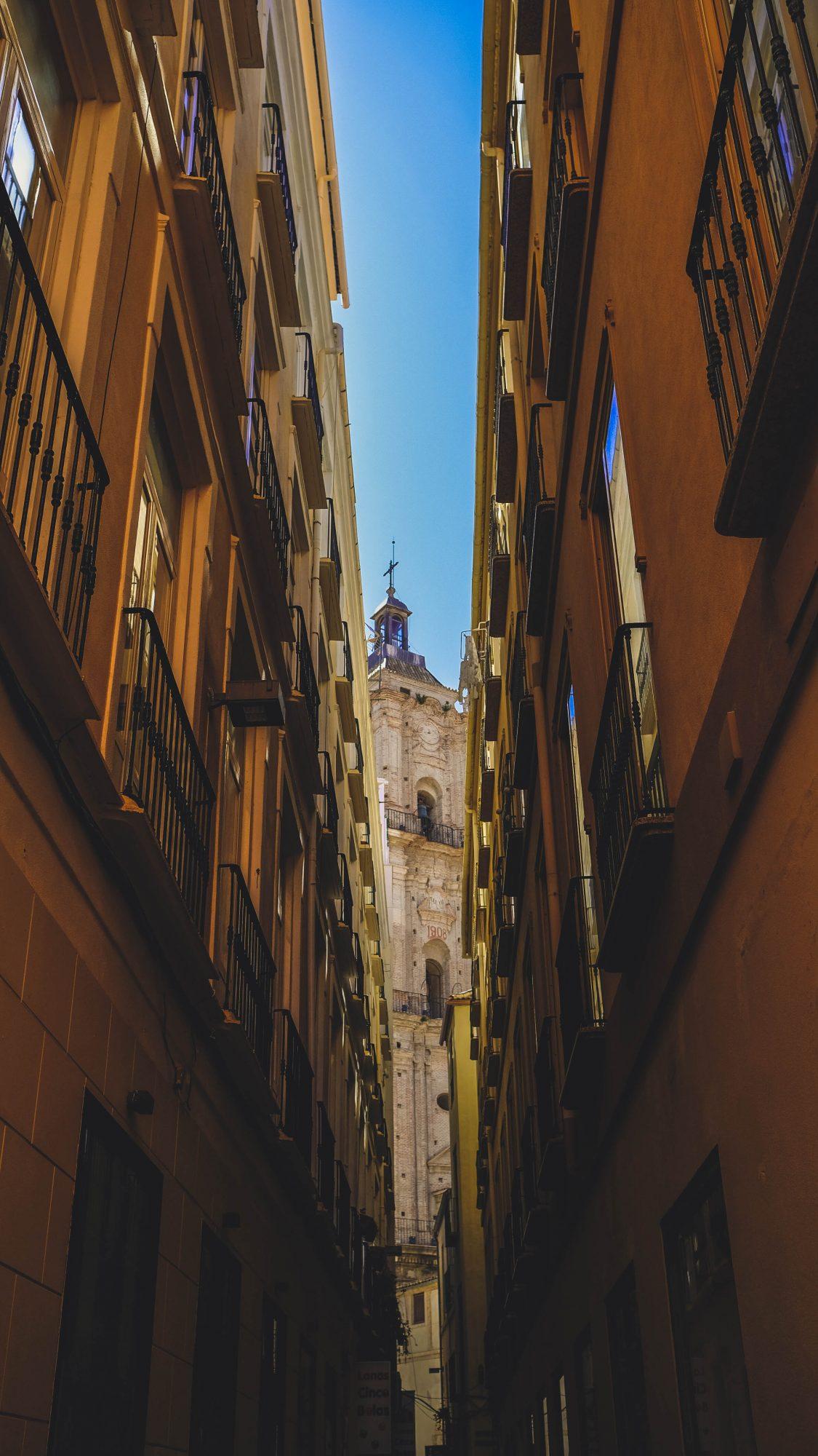 Ruelle de Malaga - Malaga, Espagne